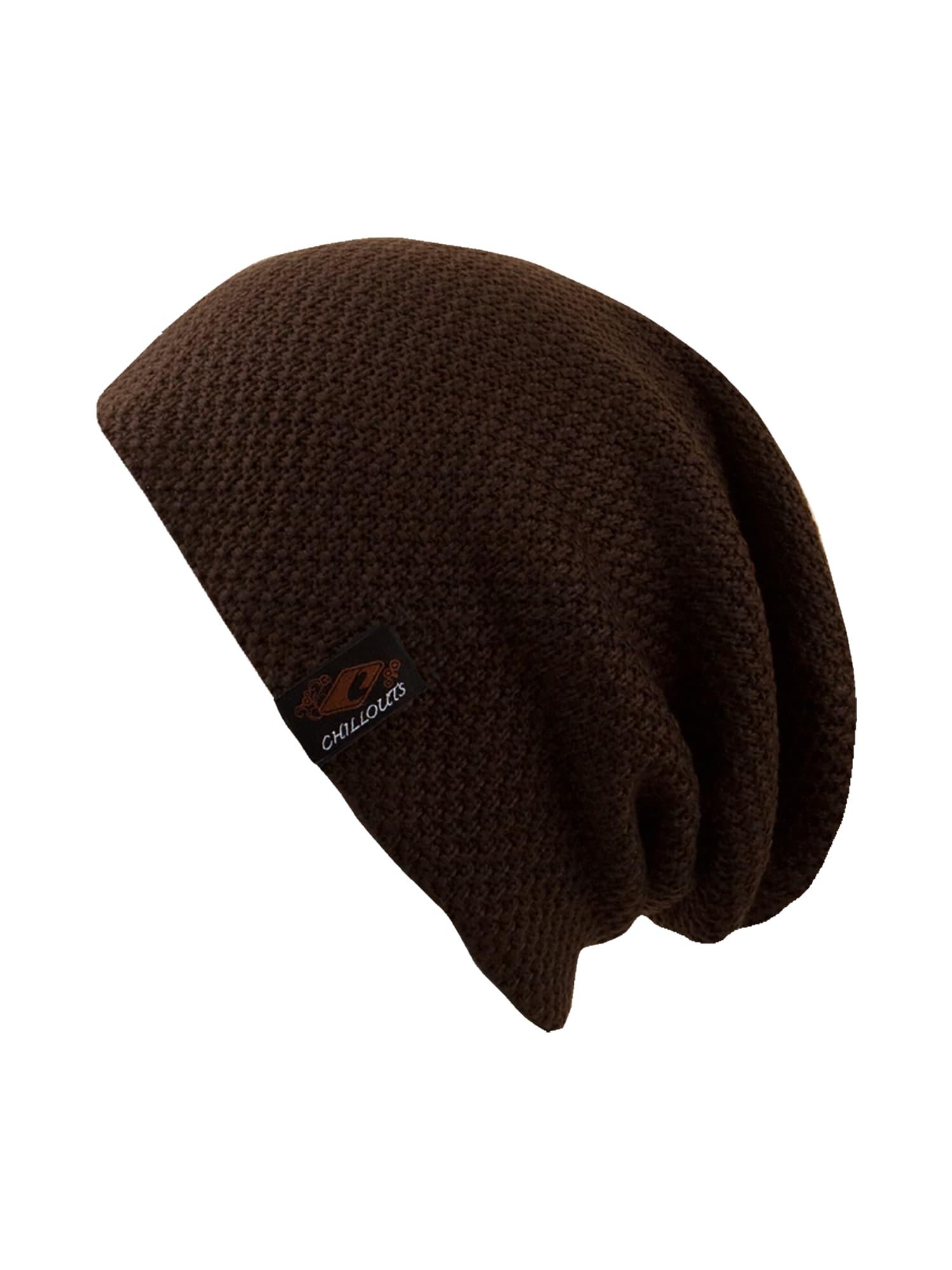 Čepice Osaka Hat tmavě hnědá Chillouts