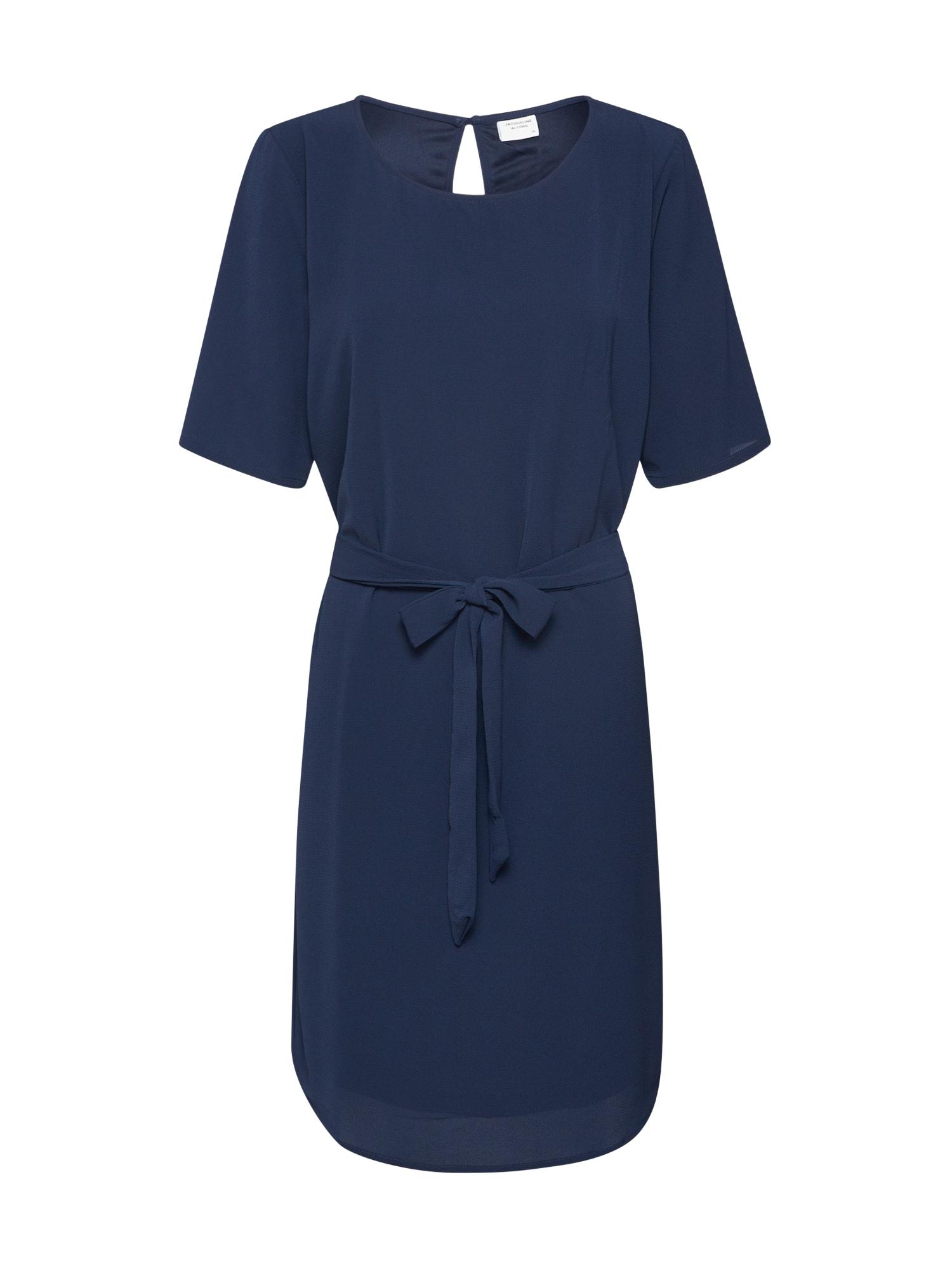 JACQUELINE de YONG Letné šaty 'JDYAMANDA'  modré