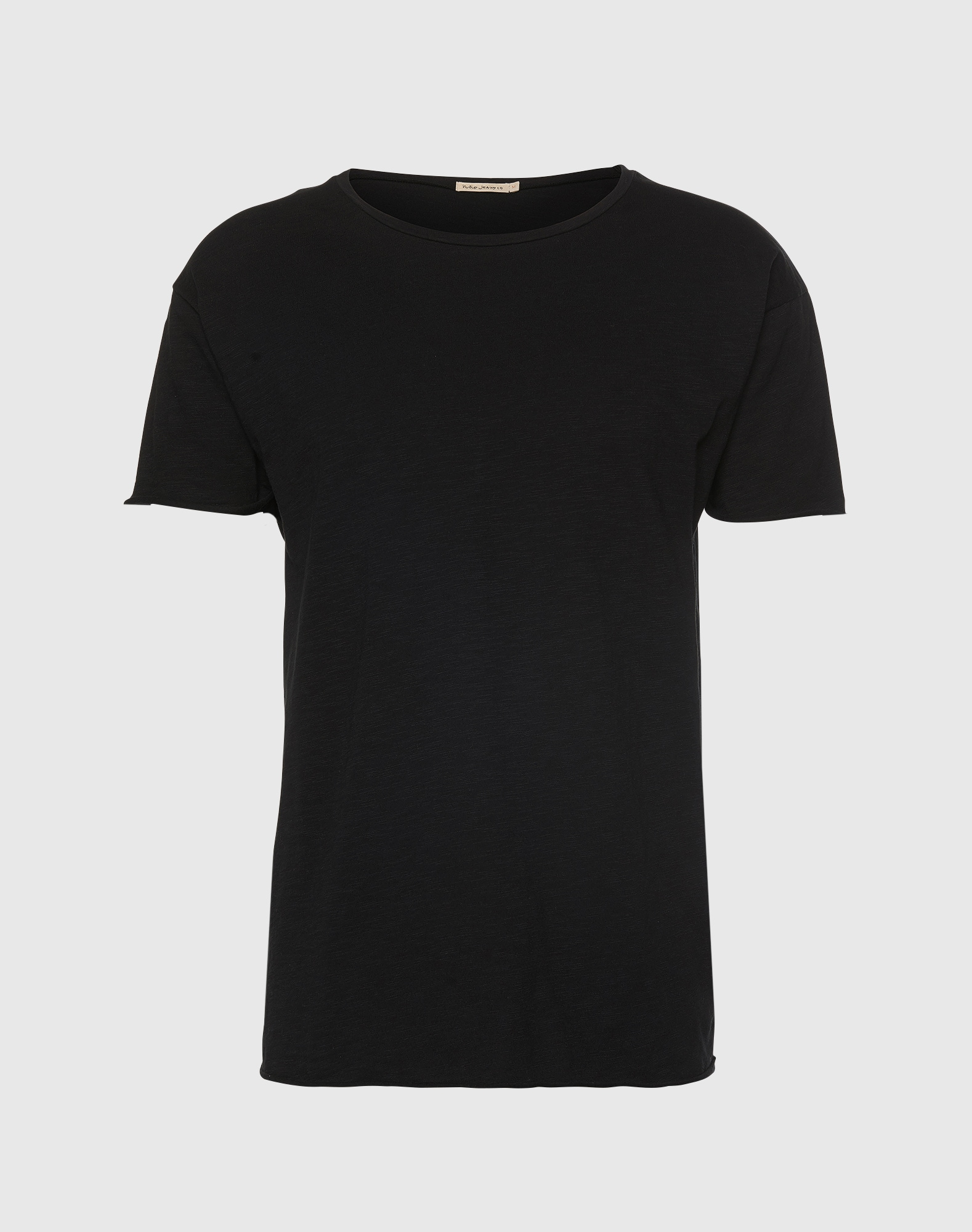 Nudie Jeans Co T-shirt 'Roger Slub'  svart