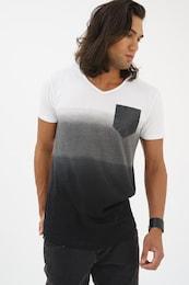 - trueprodigy Herren T-Shirt What Happens grau,schwarz,weiß | 04057124049510