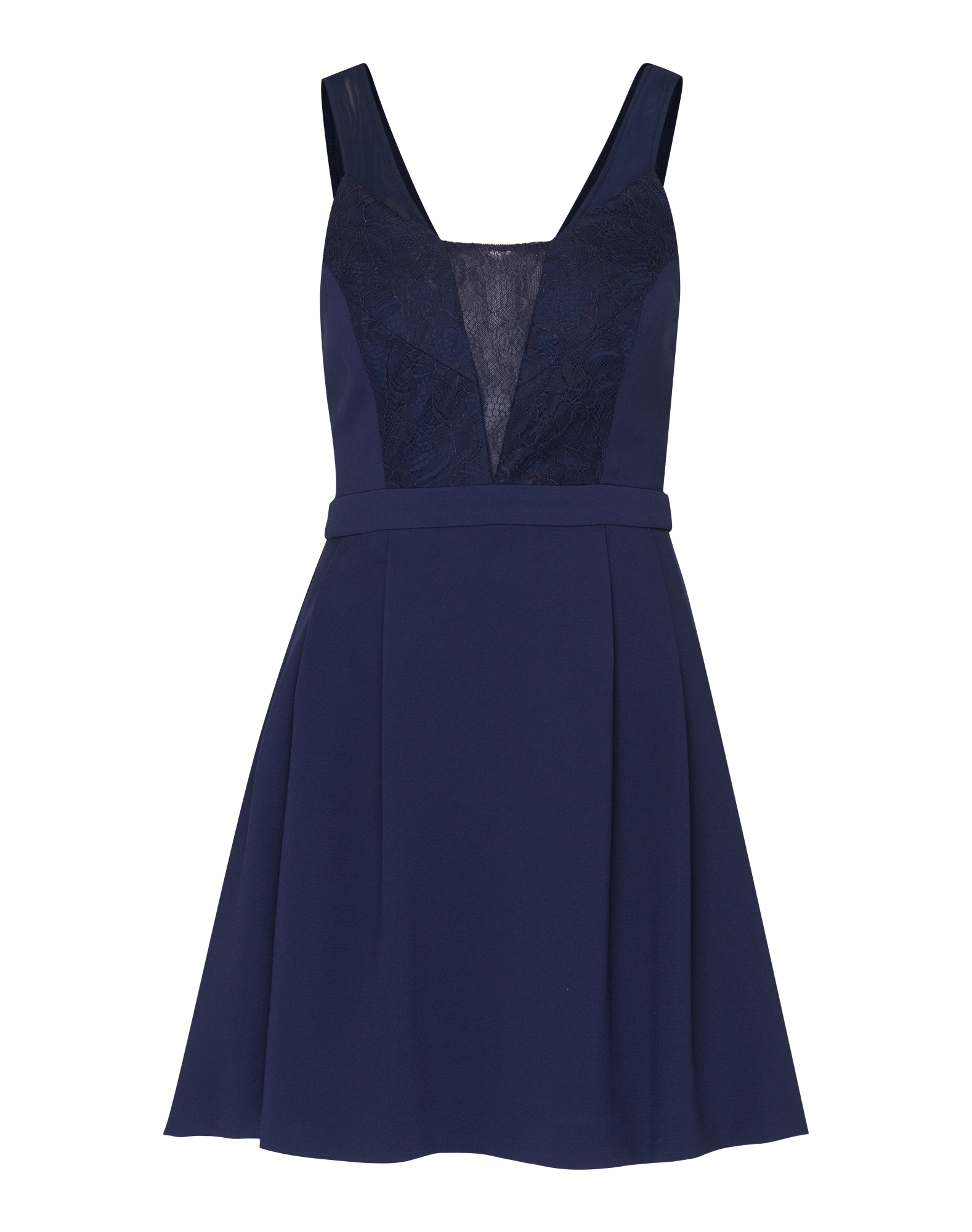Koktejlové šaty námořnická modř BCBGeneration