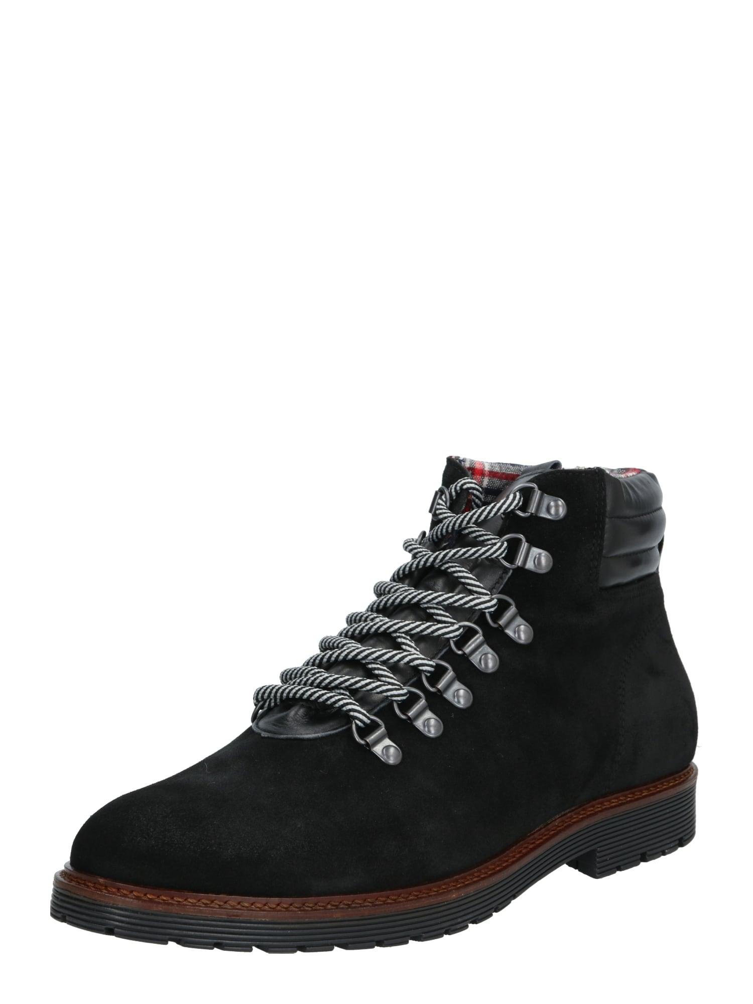 Bianco Auliniai batai su raišteliais 'CARRICK' juoda