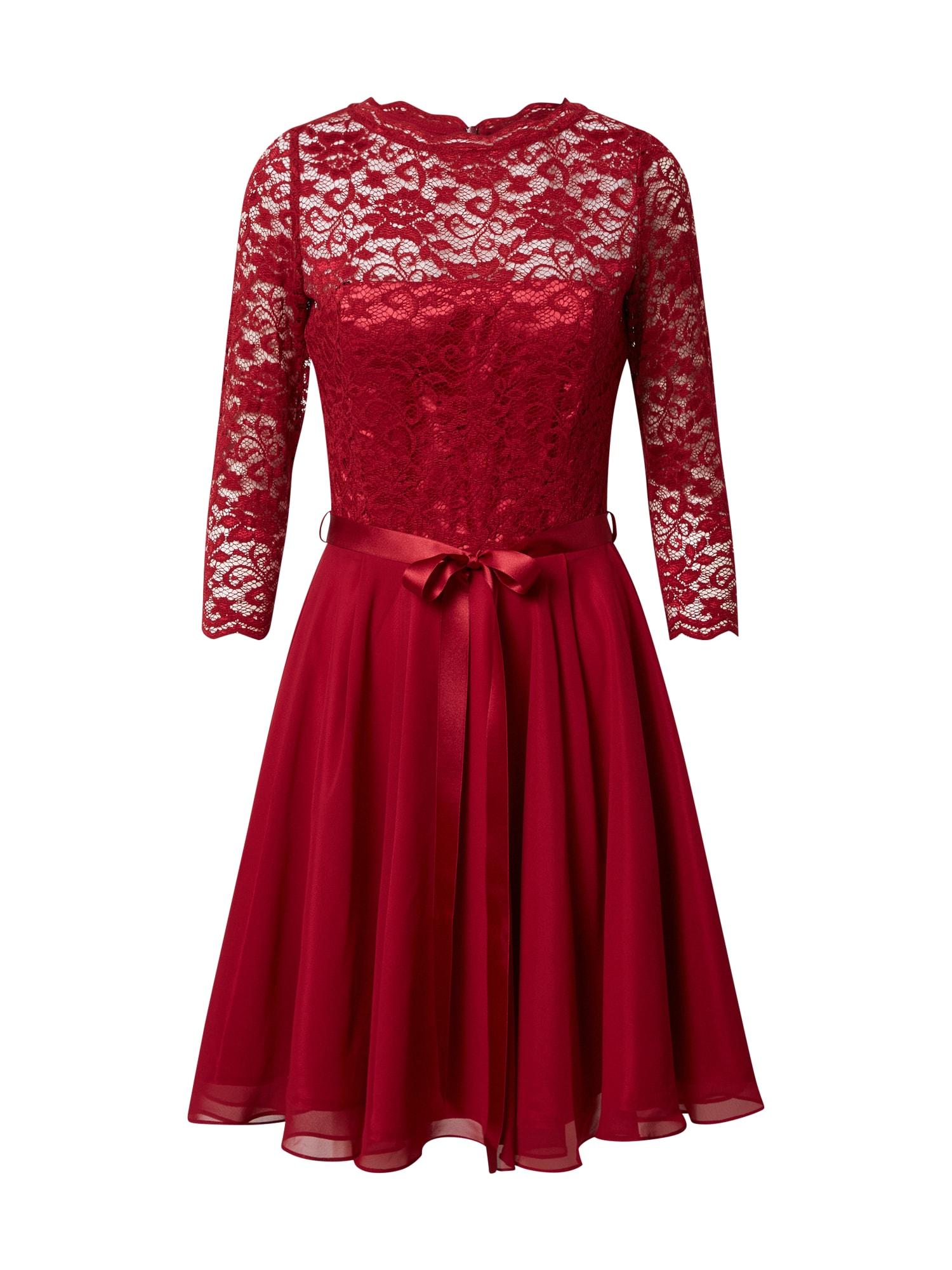 SWING Kokteilinė suknelė ryškiai raudona