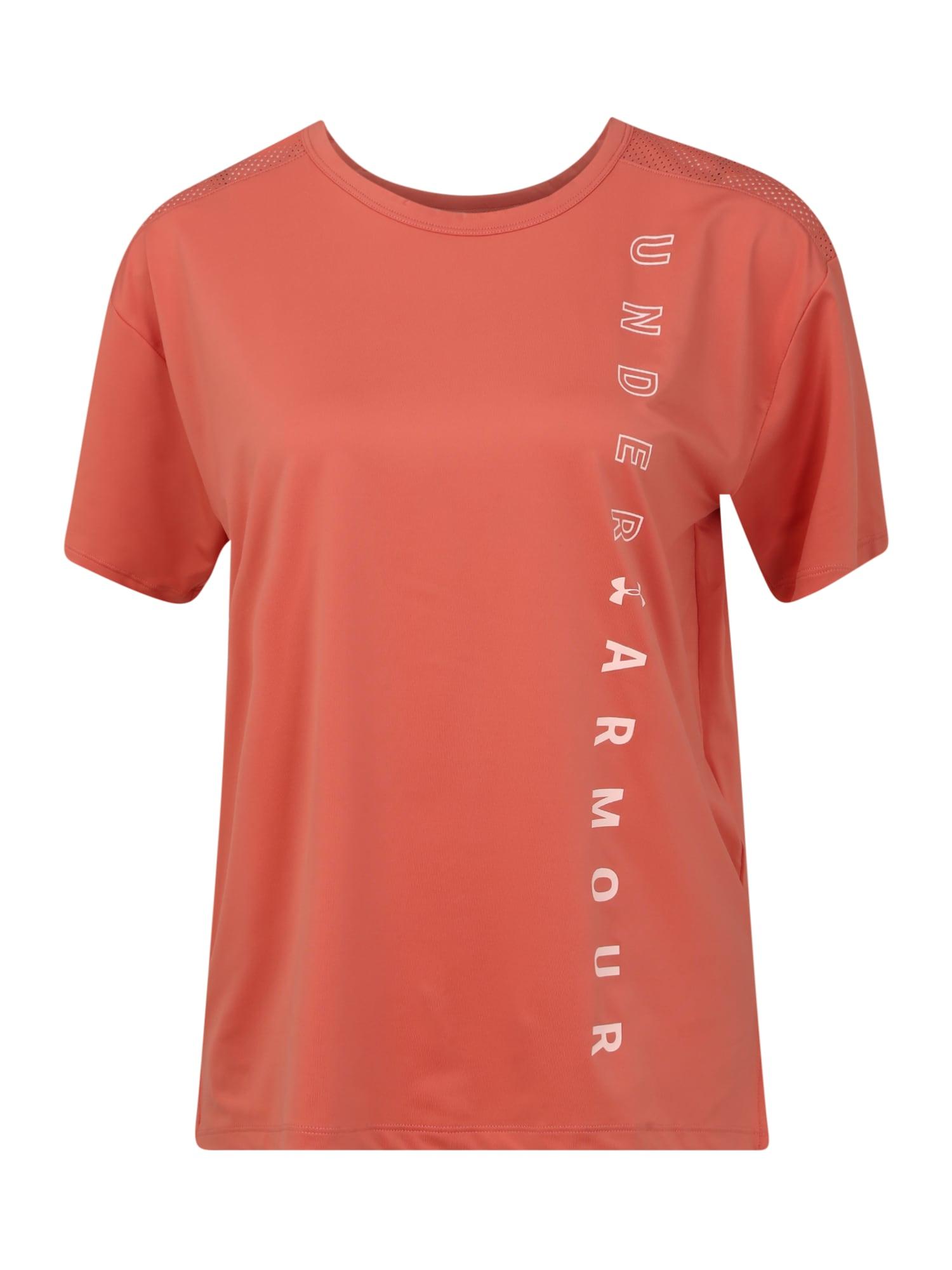 UNDER ARMOUR Sportiniai marškinėliai oranžinė