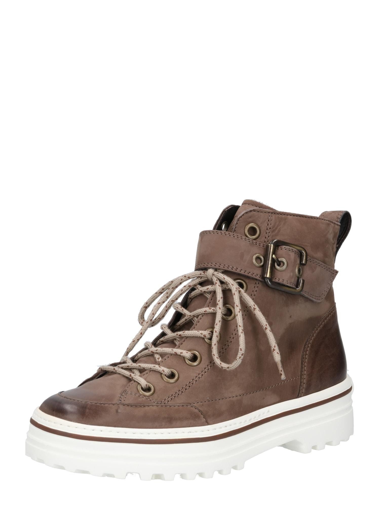 Paul Green Suvarstomieji kulkšnis dengiantys batai tamsiai ruda