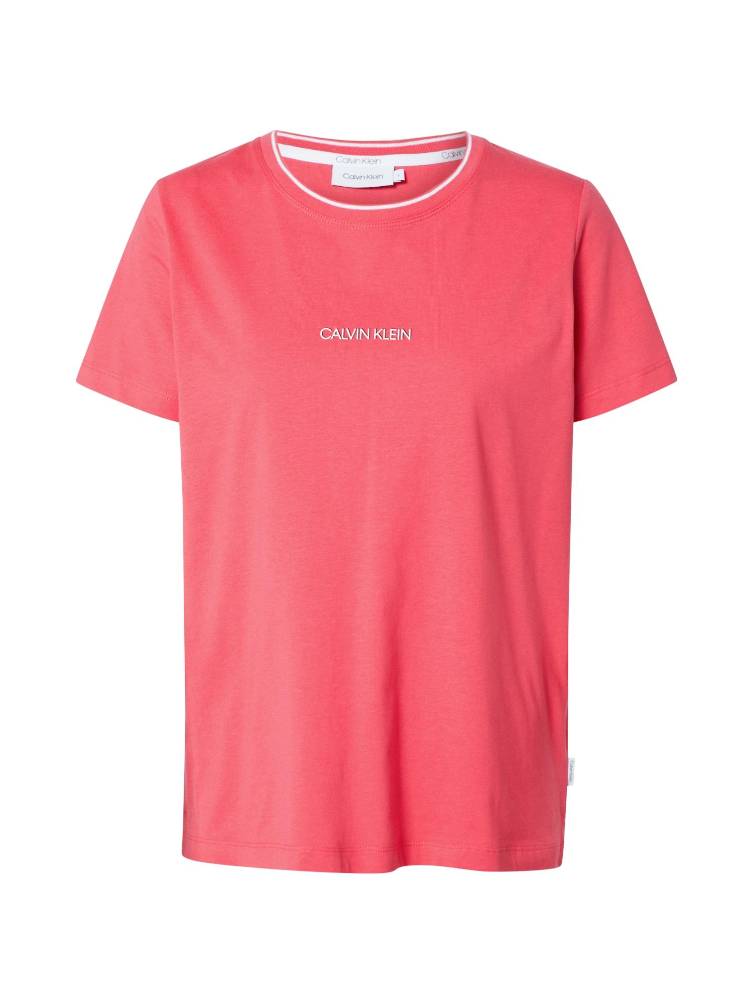 Calvin Klein Marškinėliai rožinė