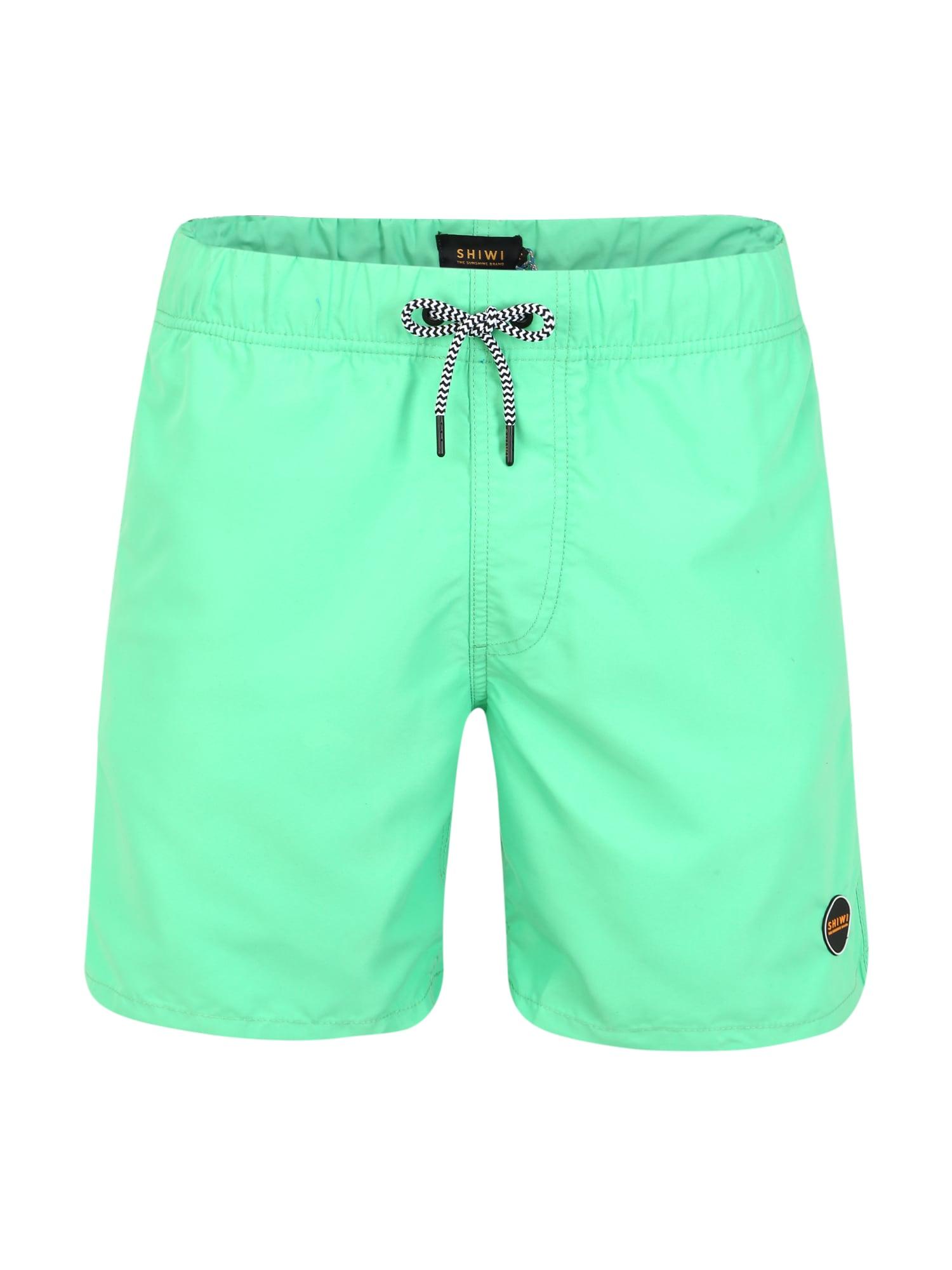 Shiwi Plavecké šortky 'Solid Mike'  zelená