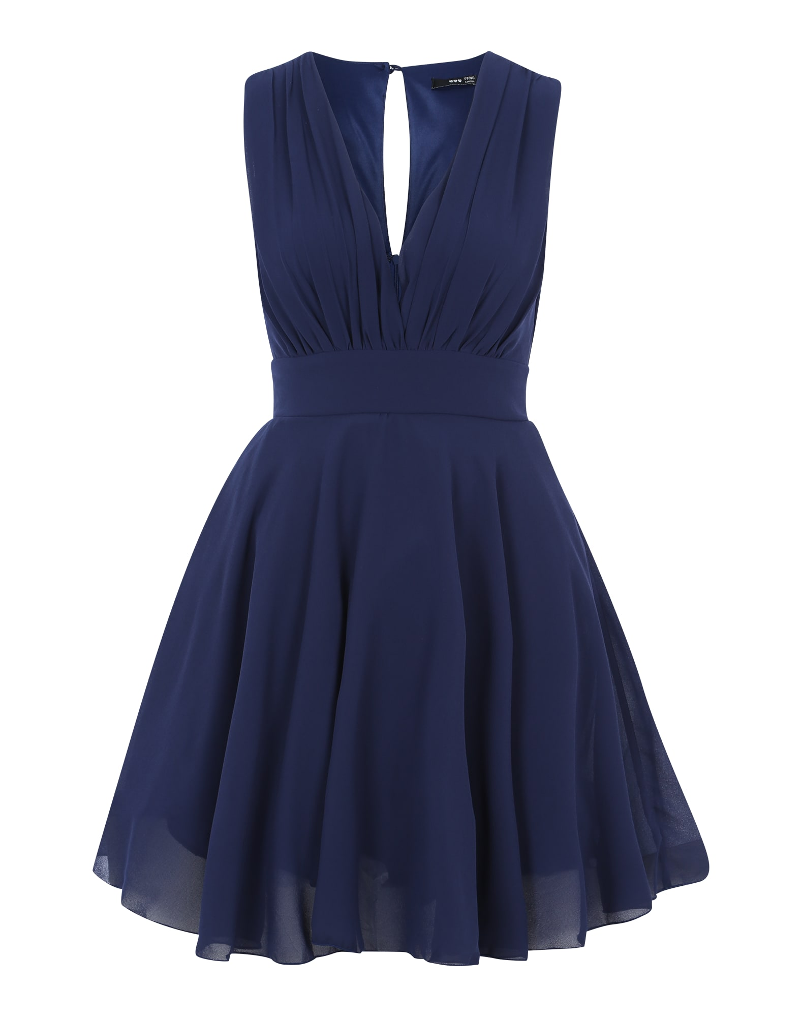 TFNC Kokteilinė suknelė tamsiai mėlyna