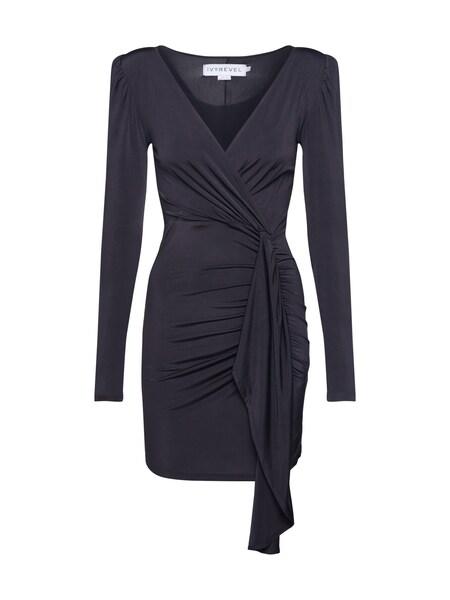 Kleider - Kleid 'DRAPE FRONT' › Ivyrevel › schwarz  - Onlineshop ABOUT YOU