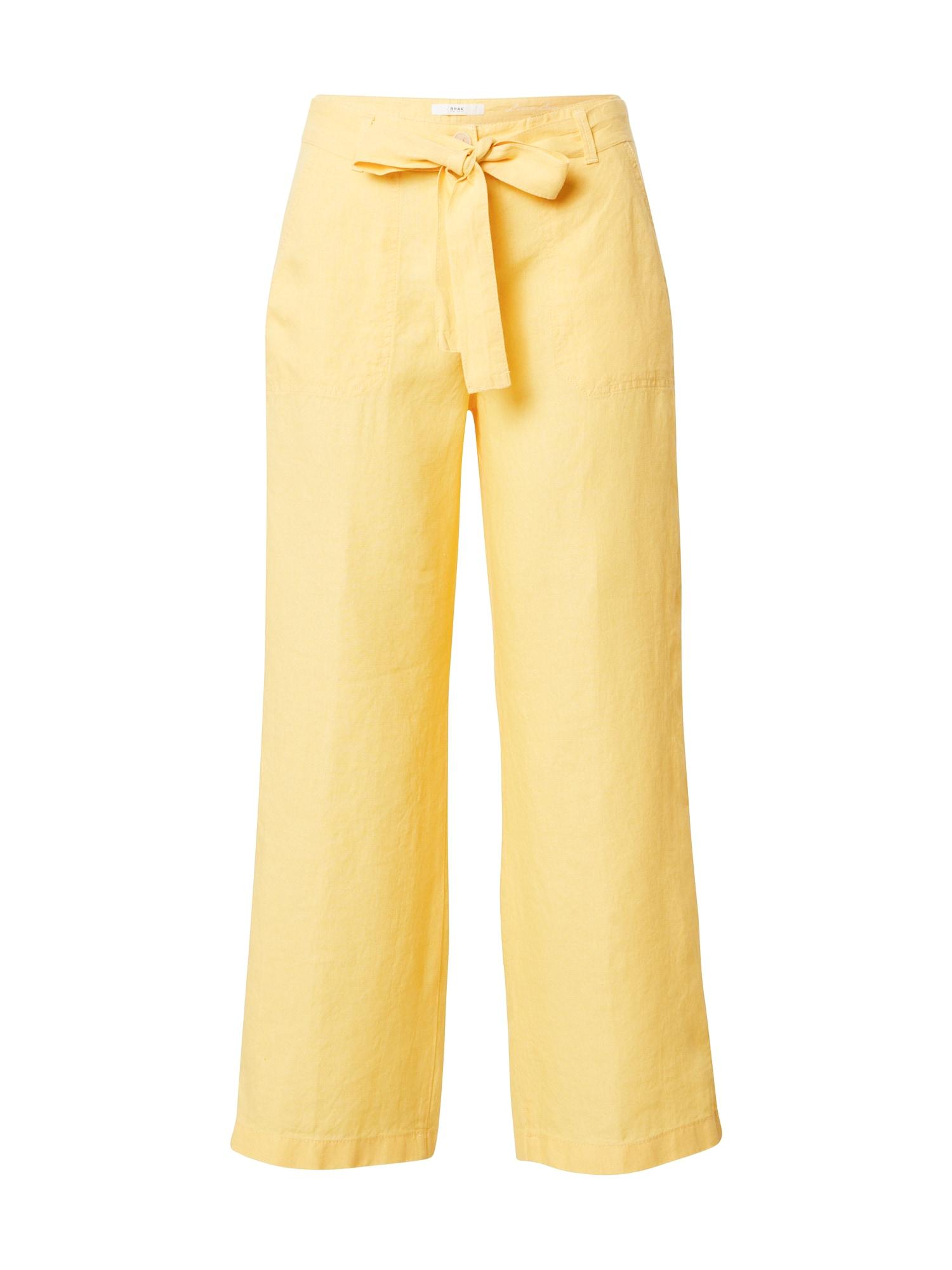 BRAX Kelnės 'MAINE' geltona