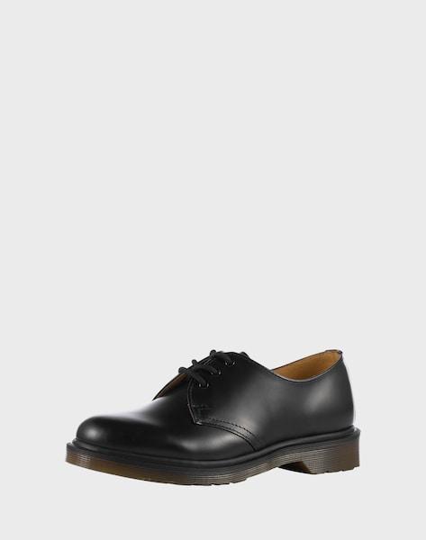 dr martens leder halbschuhe 39 3 eye shoe smooth 39 im unisex. Black Bedroom Furniture Sets. Home Design Ideas