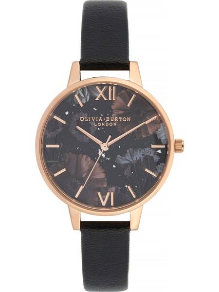 Uhren für Frauen - Uhr 'Celestial OB16GD22' › Olivia Burton › rosegold schwarz  - Onlineshop ABOUT YOU