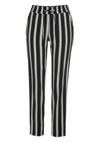 Hosen für Frauen - ANISTON Hose schwarz weiß  - Onlineshop ABOUT YOU
