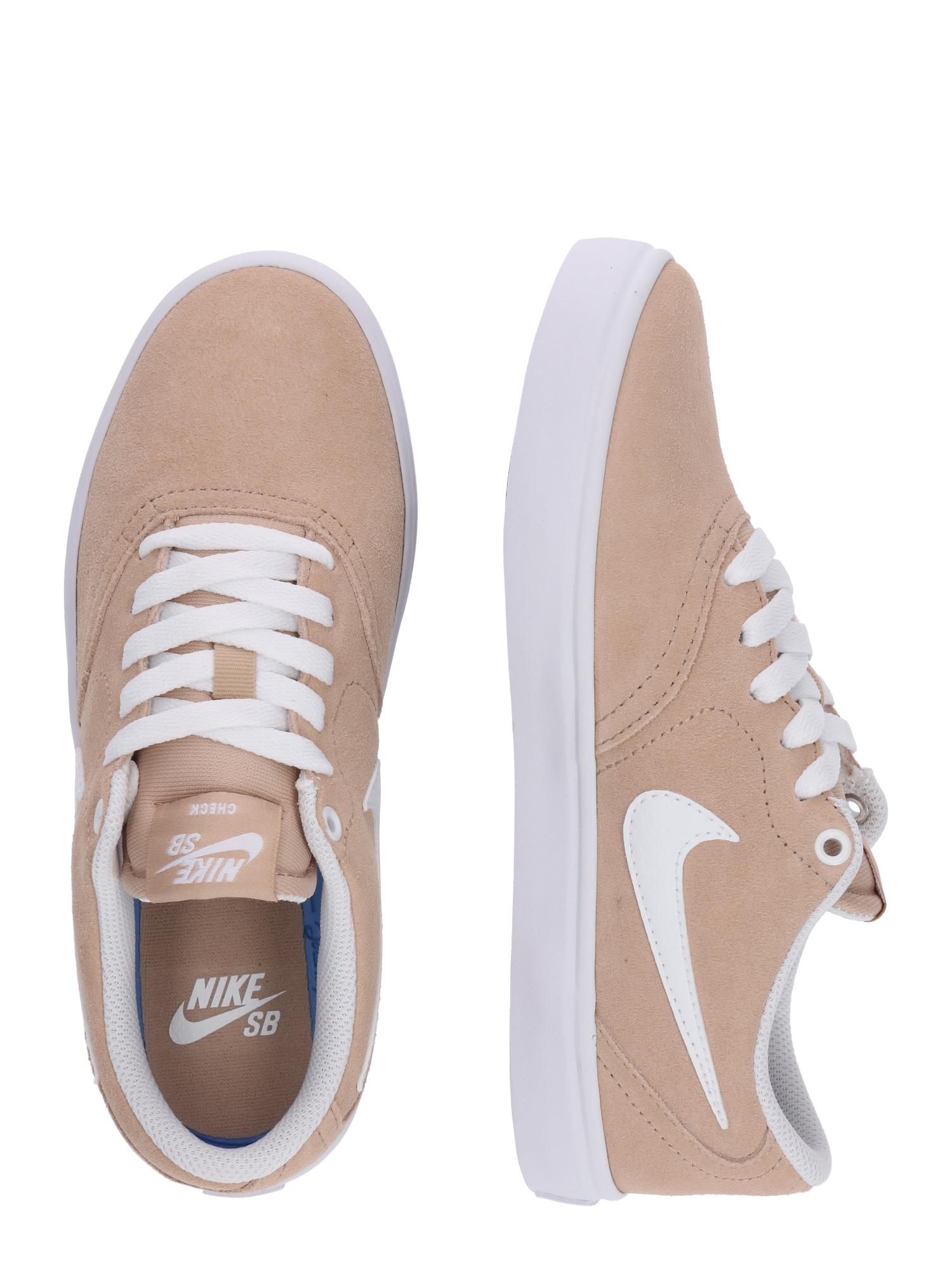 Nike SB, Damen Sneakers laag Check Solar, poederroze / wit