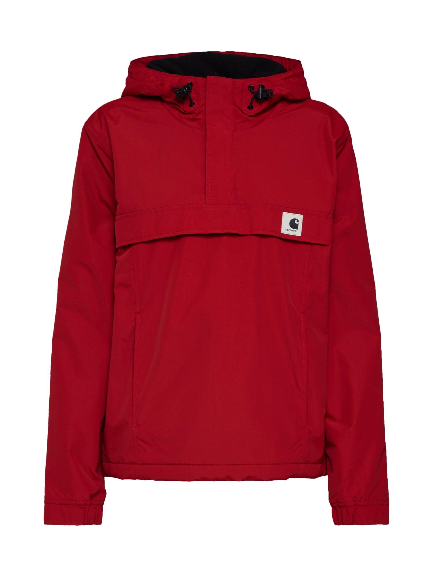 Přechodná bunda Nimbus červená bílá Carhartt WIP