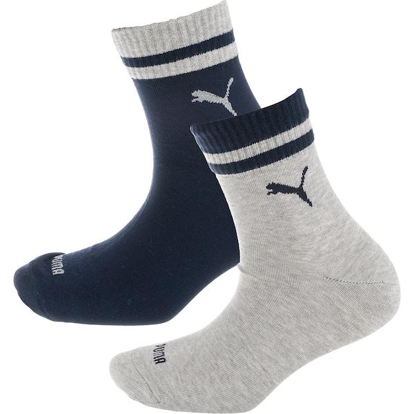 Socken für Frauen - PUMA Kurzsocken blau graumeliert  - Onlineshop ABOUT YOU