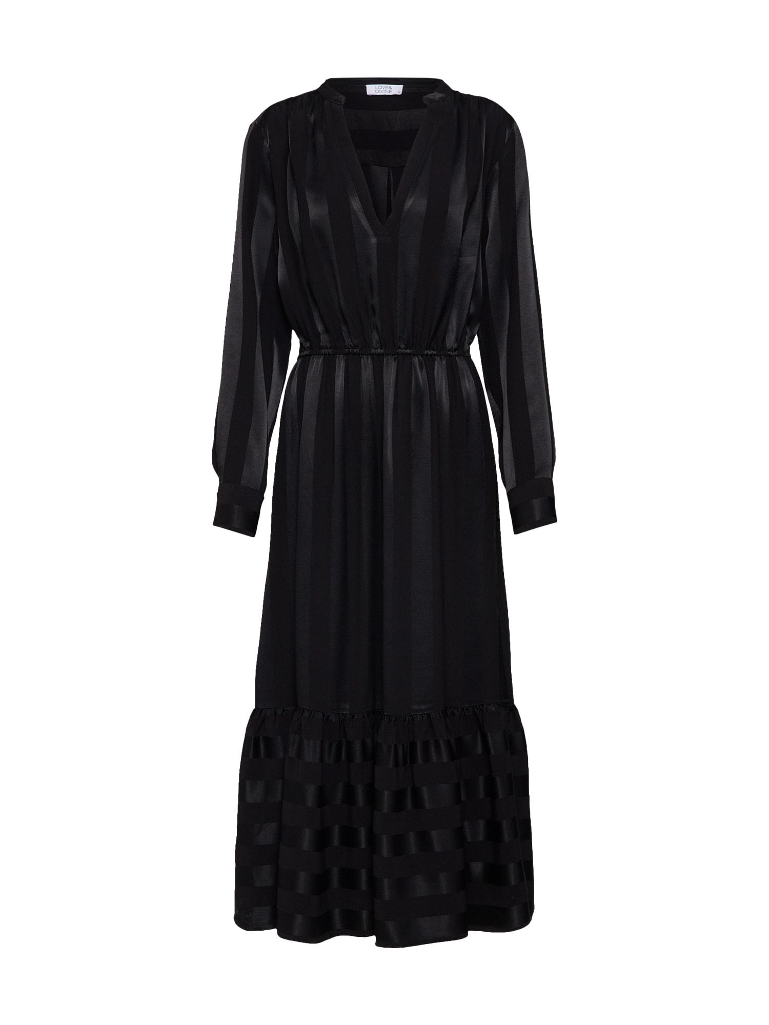 Šaty love294 černá Love & Divine