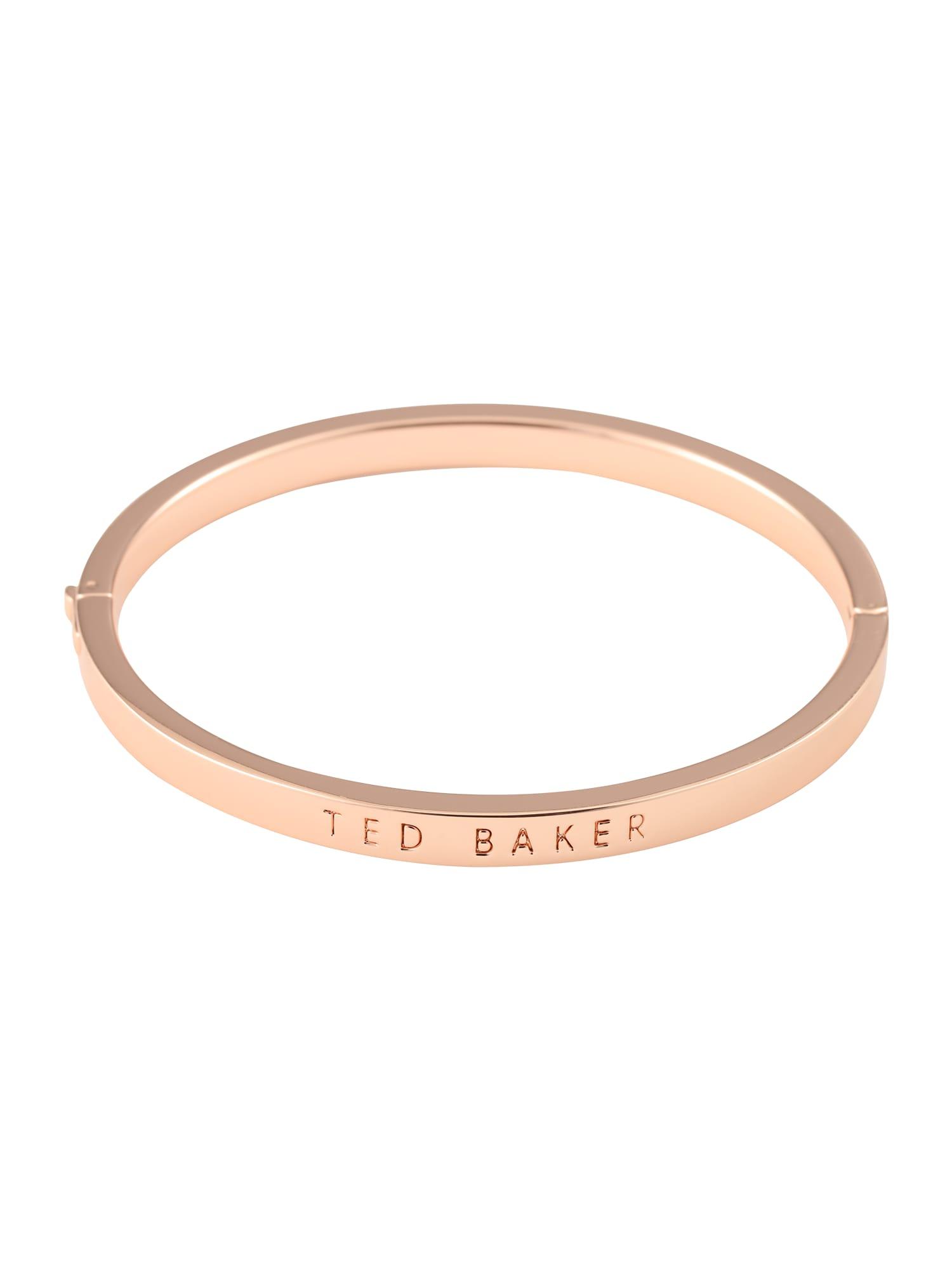 Damen Ted Baker Ring 'CLEMINA: HINGE METALLIC BANGLE' gold | 05055336349403