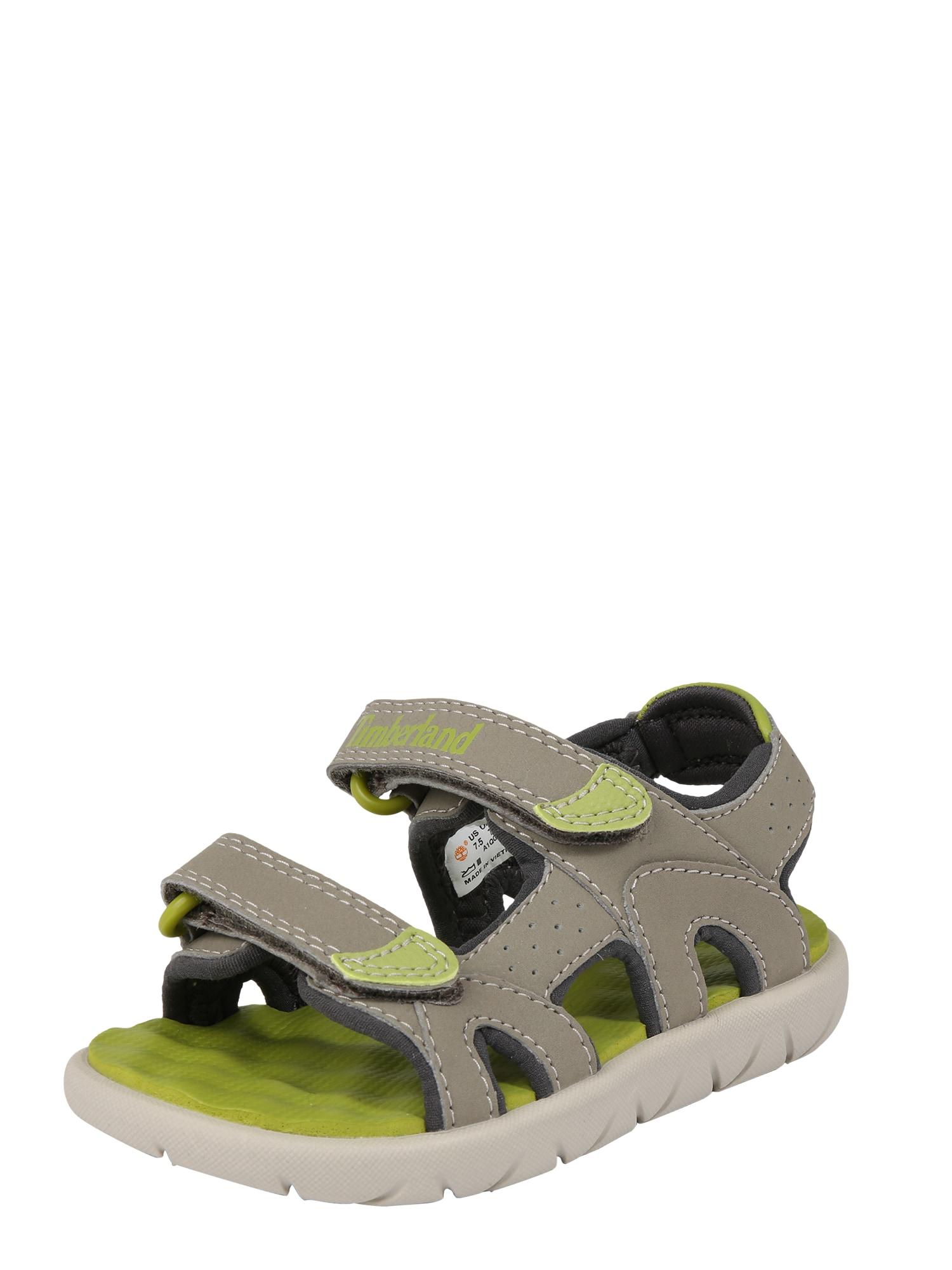 Otevřená obuv Perkins béžová světle zelená TIMBERLAND