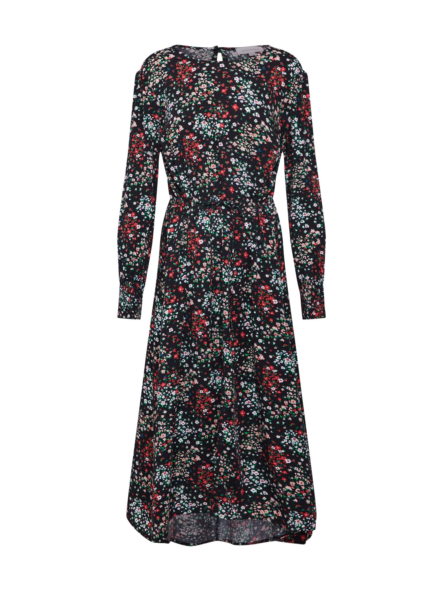 Šaty ROSAALIE MEADOW FLOWER mix barev černá ARMEDANGELS