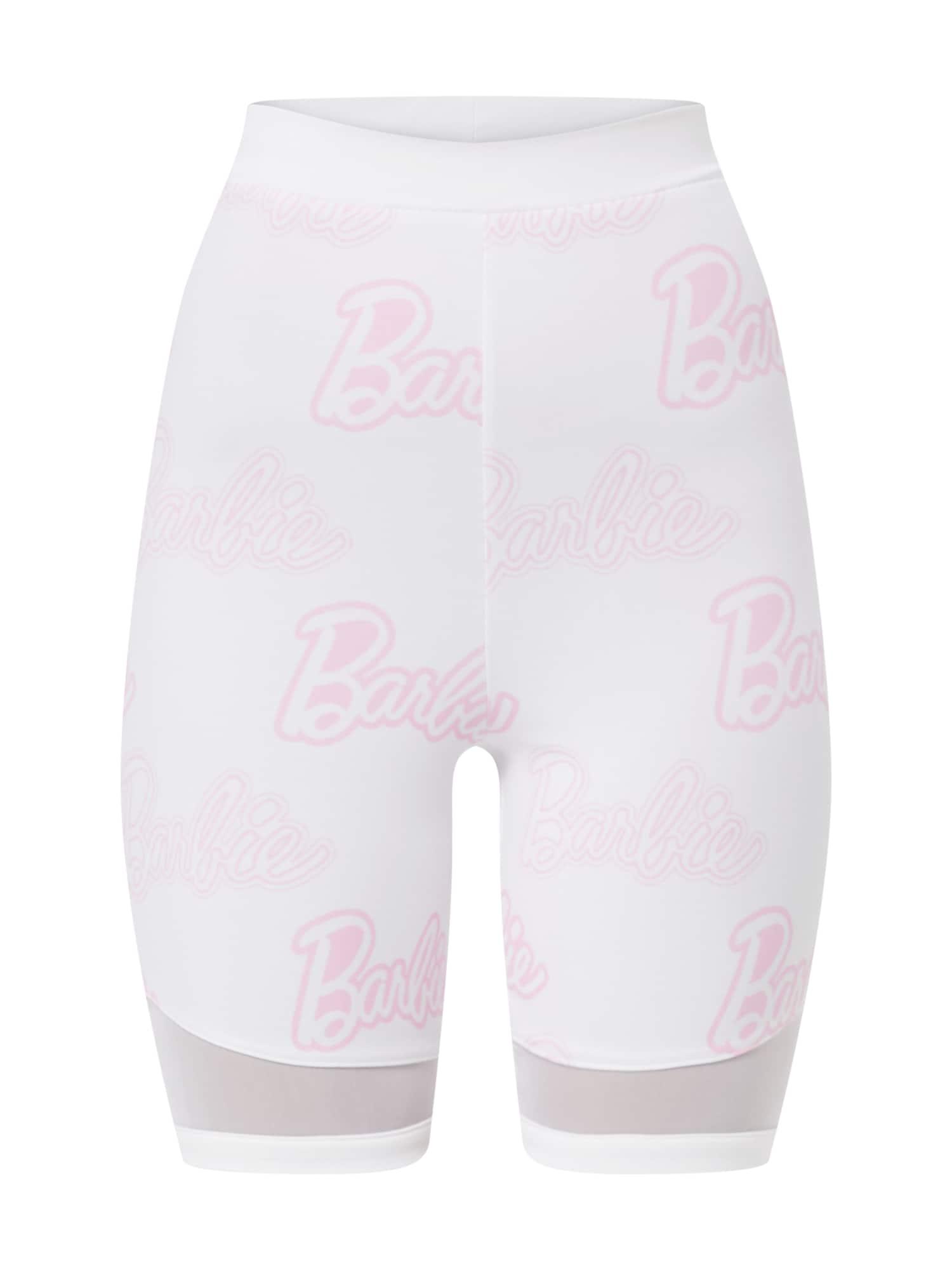 Legíny Nela Pant pink bílá ABOUT YOU X Barbie