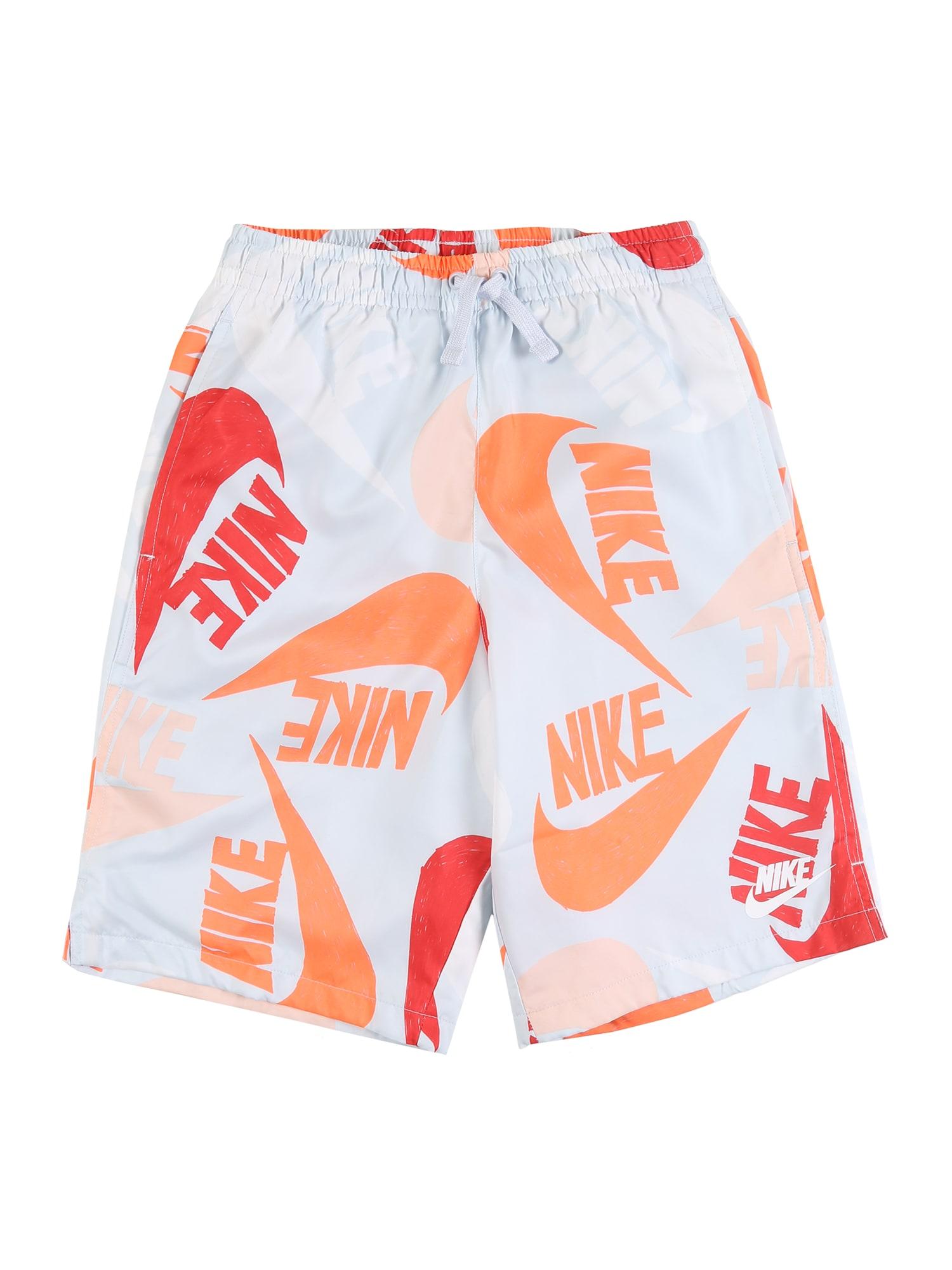 Nike Sportswear Kelnės balta / smėlio / pilka