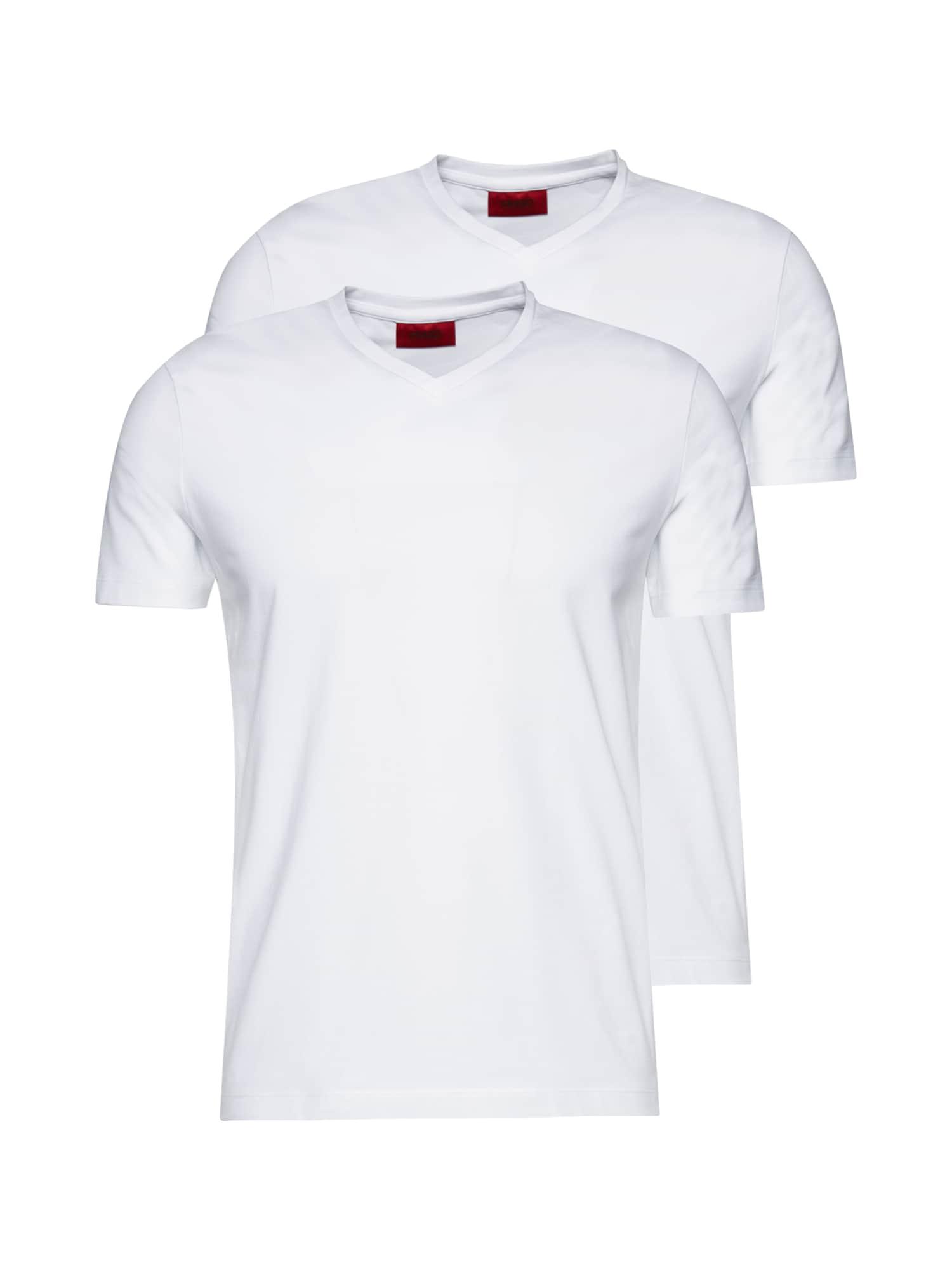 HUGO Marškinėliai balta
