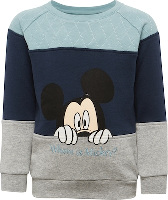 NAME IT Sweatshirt 'NITMICKEY CALV SWE BRU M MINI WDI'