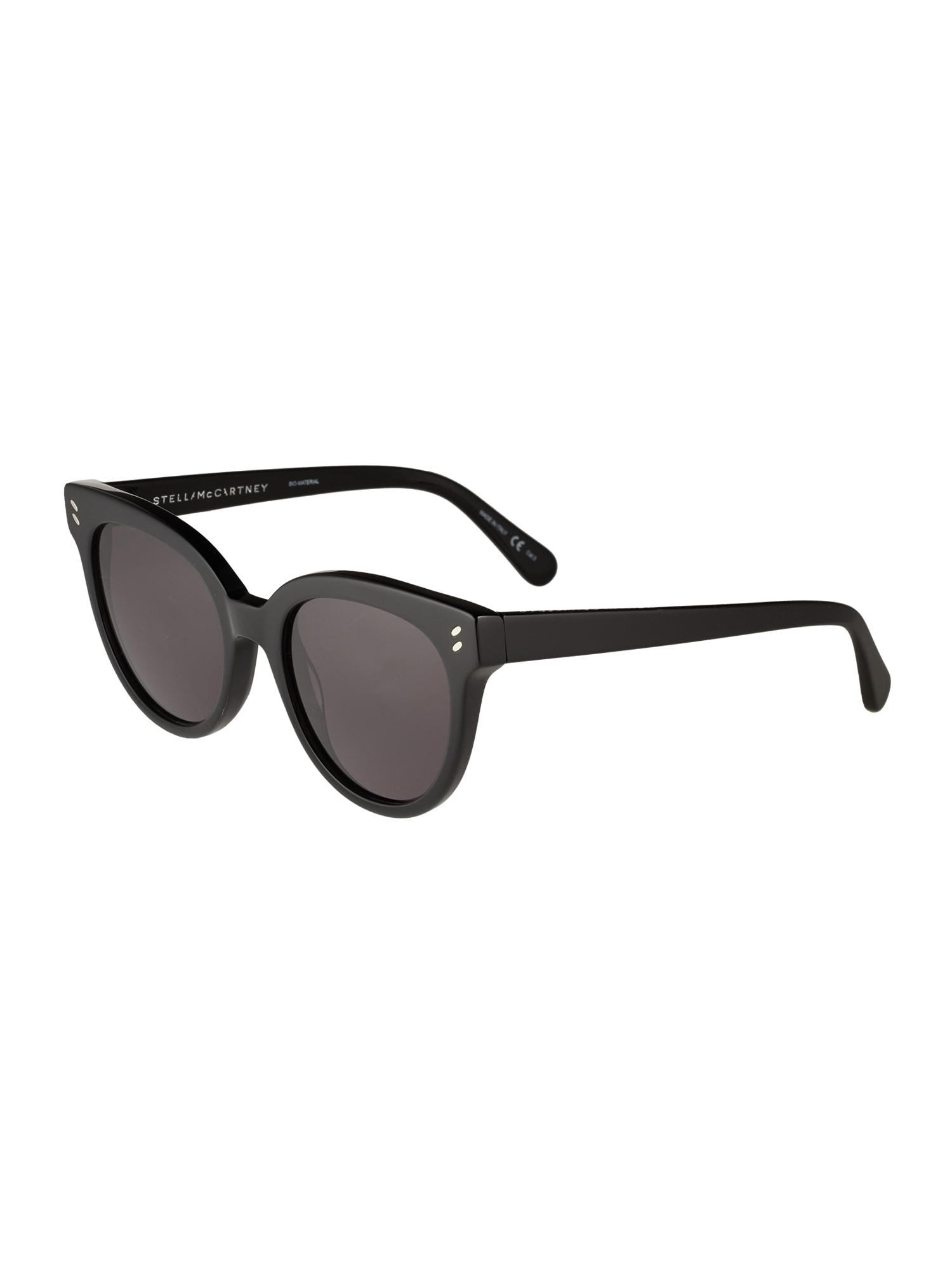 Stella McCartney Slnečné okuliare  sivá / čierna