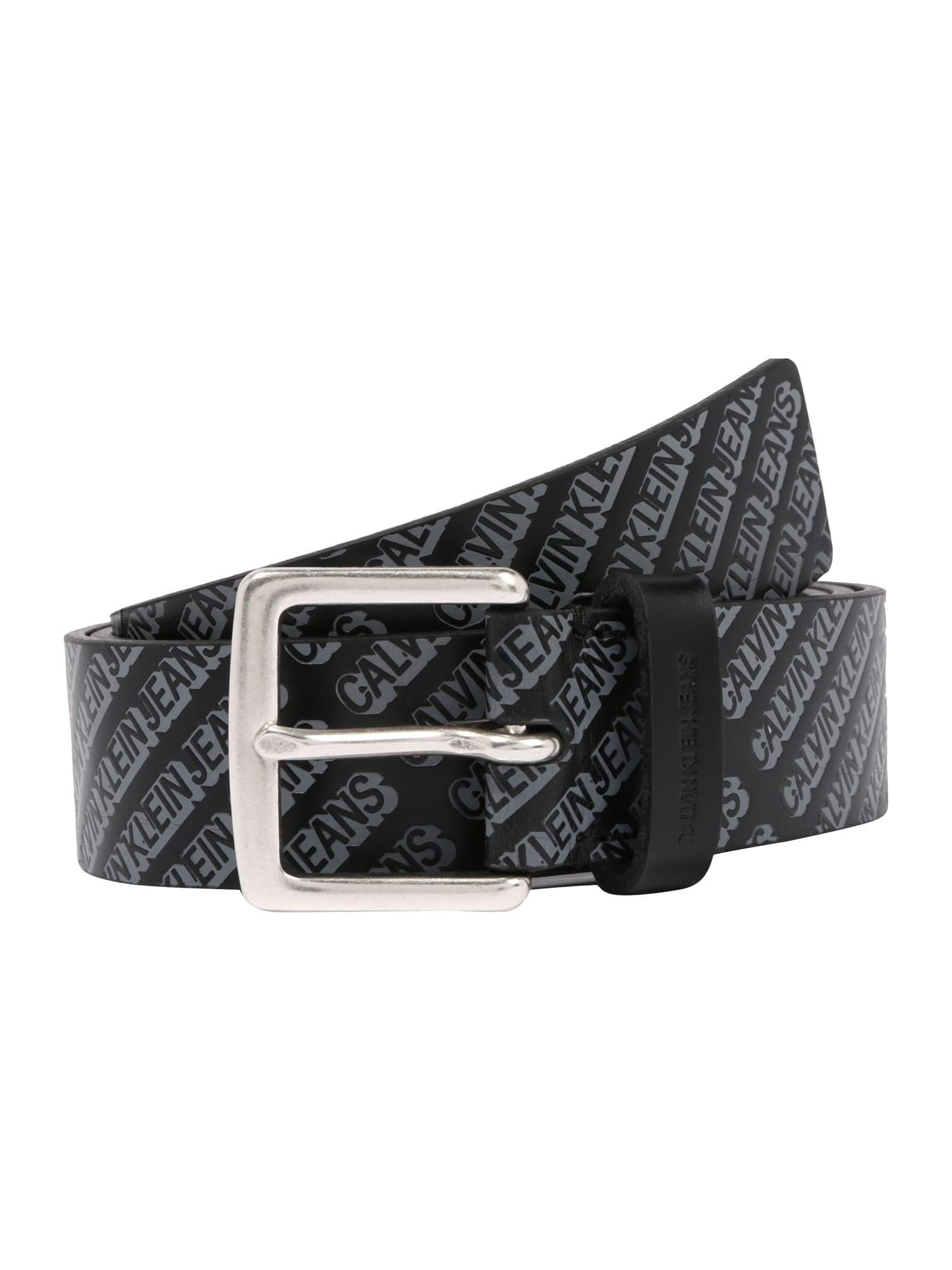 Calvin Klein Jeans Opasky 'CLASSIC 35MM'  čierna