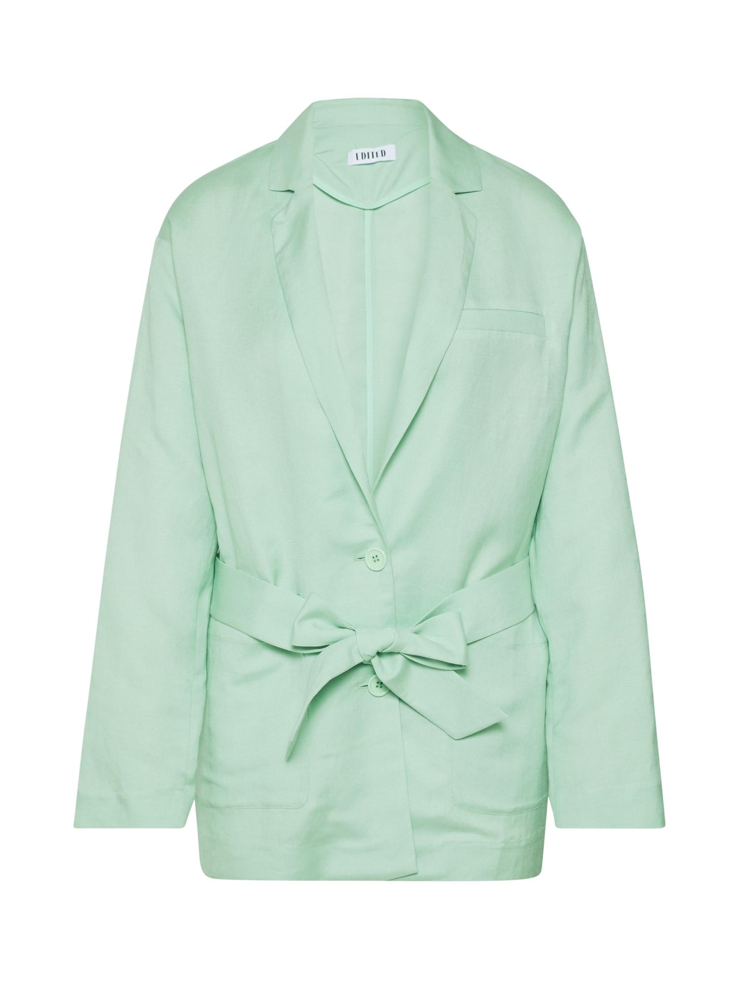 EDITED Švarkas 'Inska' turkio spalva / žalia