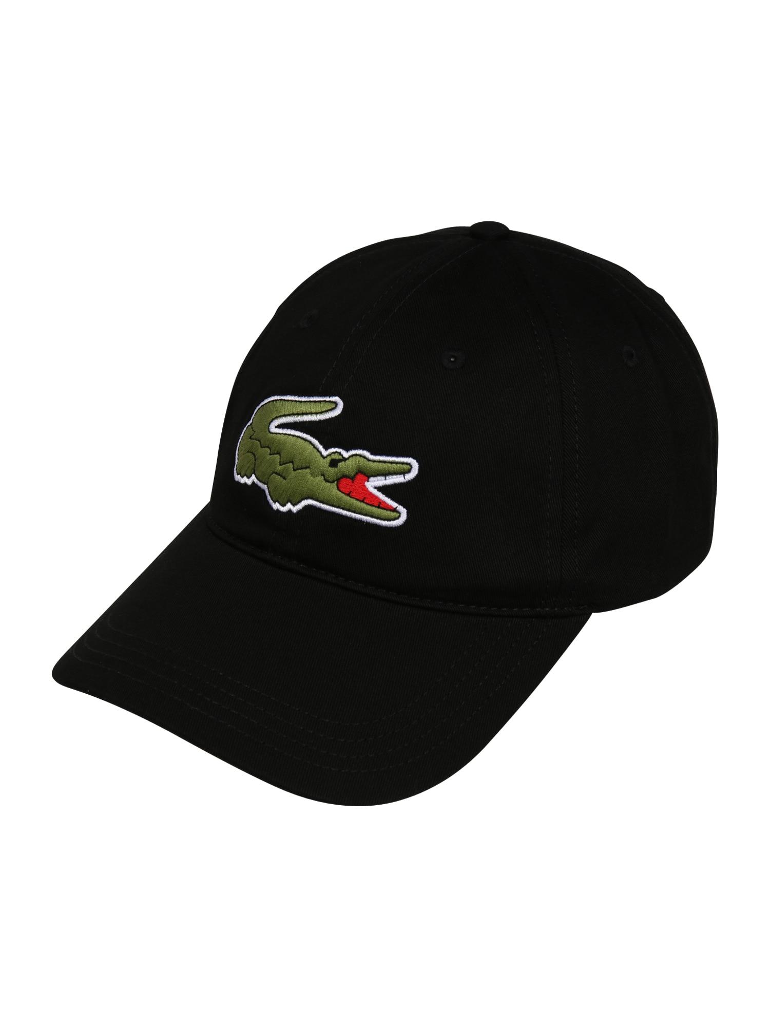 LACOSTE Kepurė juoda