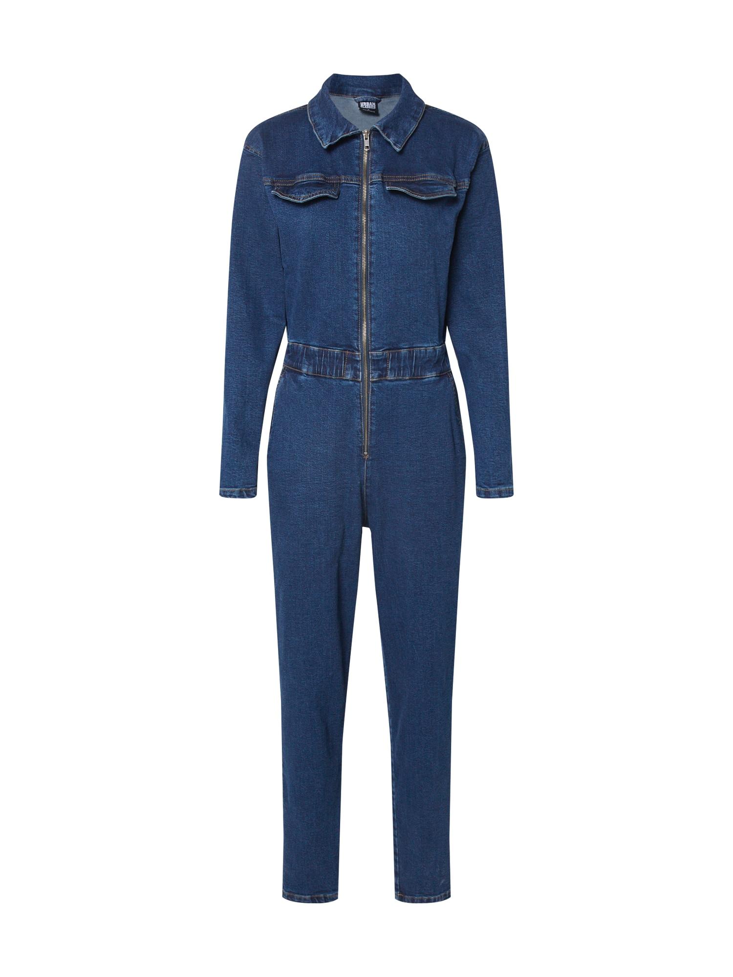 Urban Classics Salopeta 'Ladies Boiler Suit'  albastru închis
