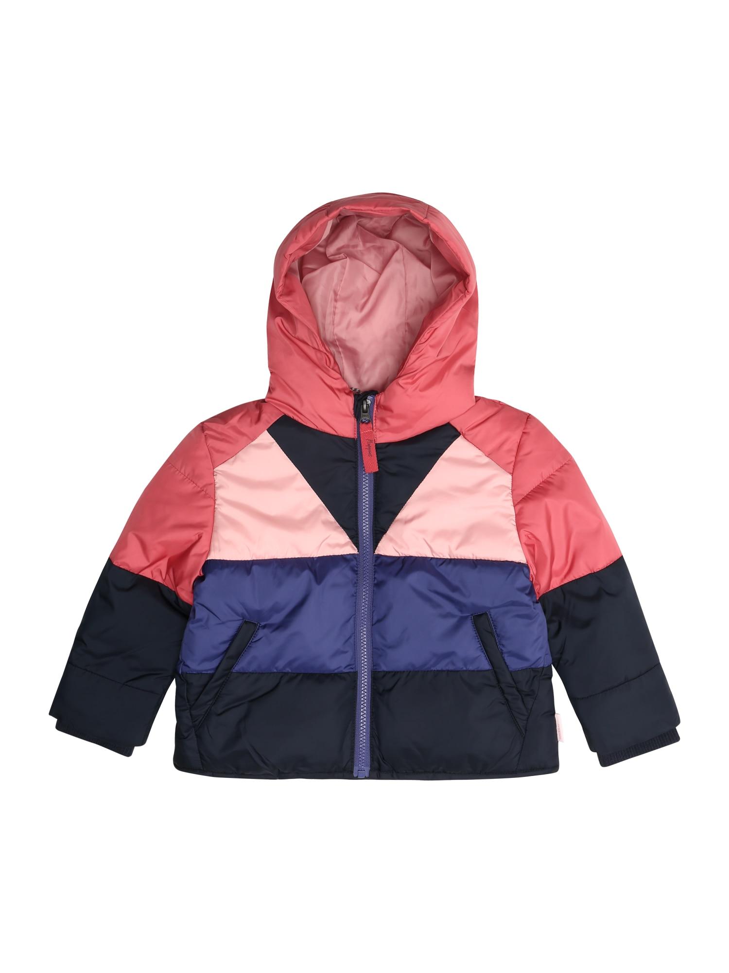 Zimní bunda Valera modrá světle růžová Noppies