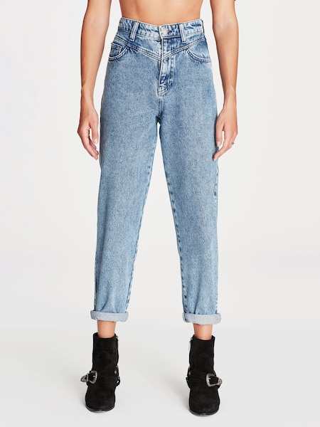 Hosen - Jeans Straight Leg ' LOLA ' › Mavi › hellblau  - Onlineshop ABOUT YOU