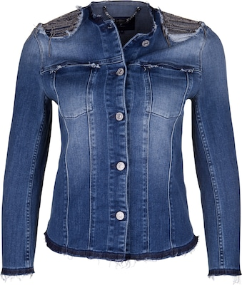 7 For All Mankind Jeansjacke 'PEARLY DESTROYED'