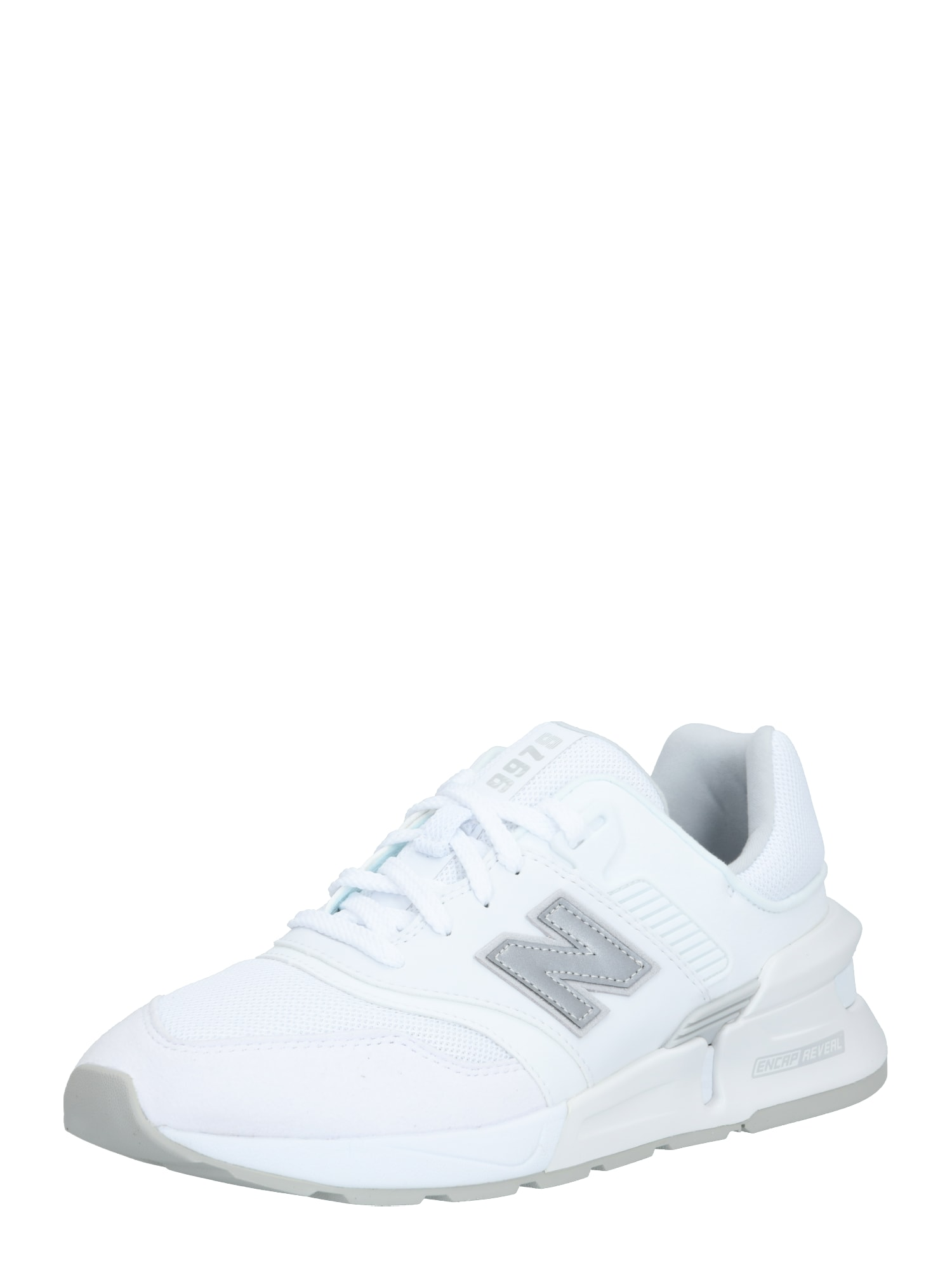 new balance Rövid szárú edzőcipők 'MS997 D'  szürke / fehér