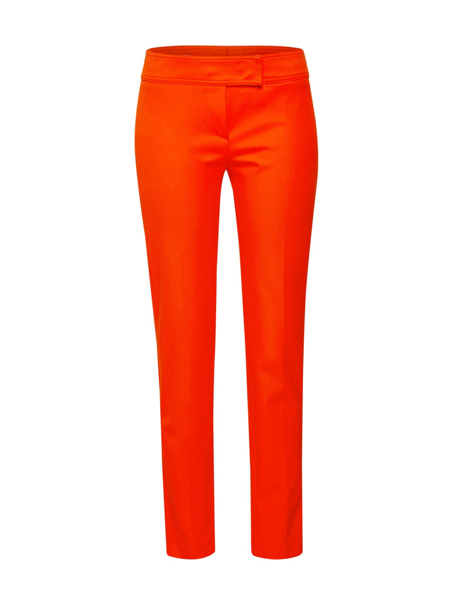 Kalhoty F012S oranžová RENÉ LEZARD