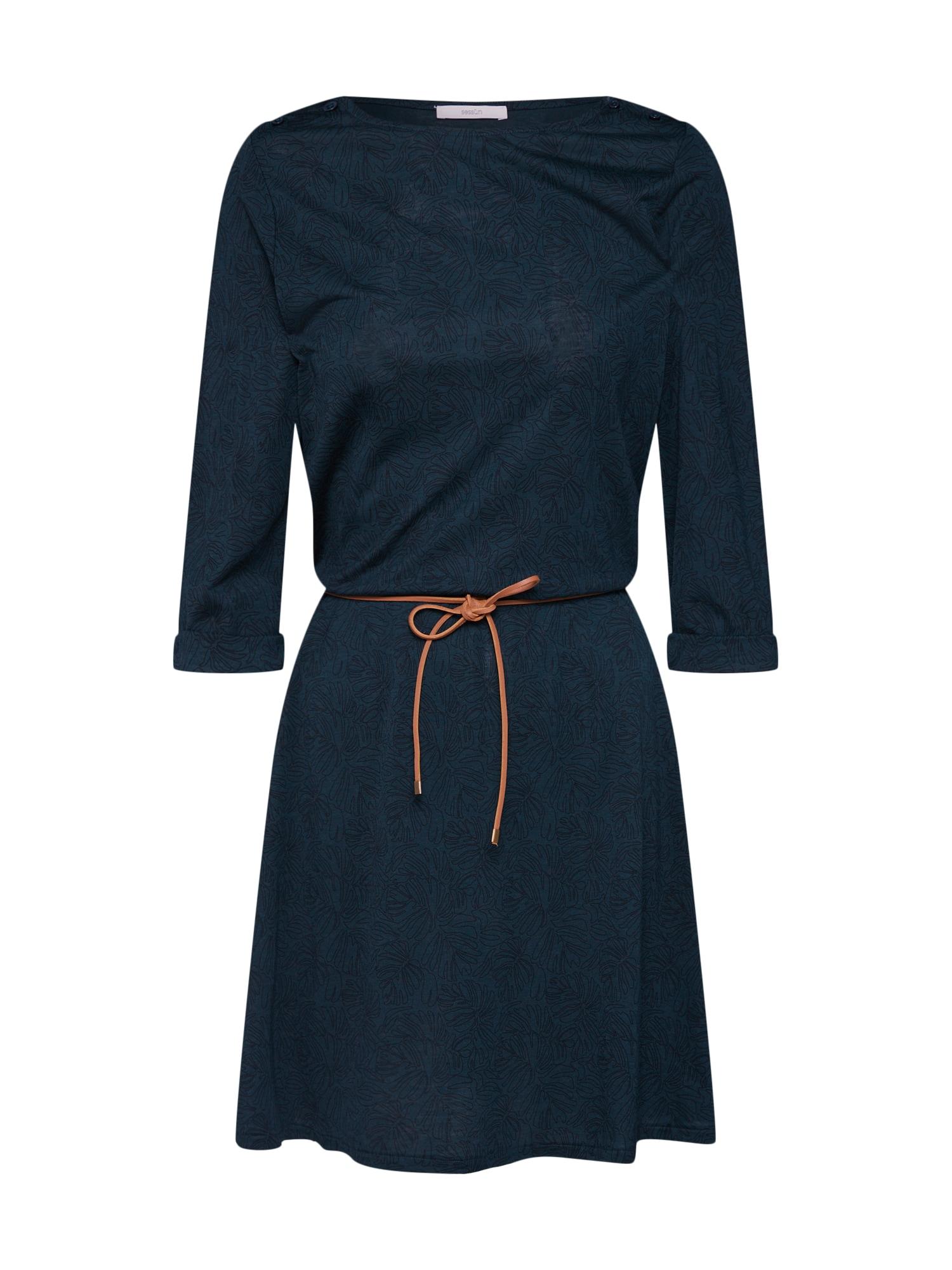Šaty tmavě zelená Sessun