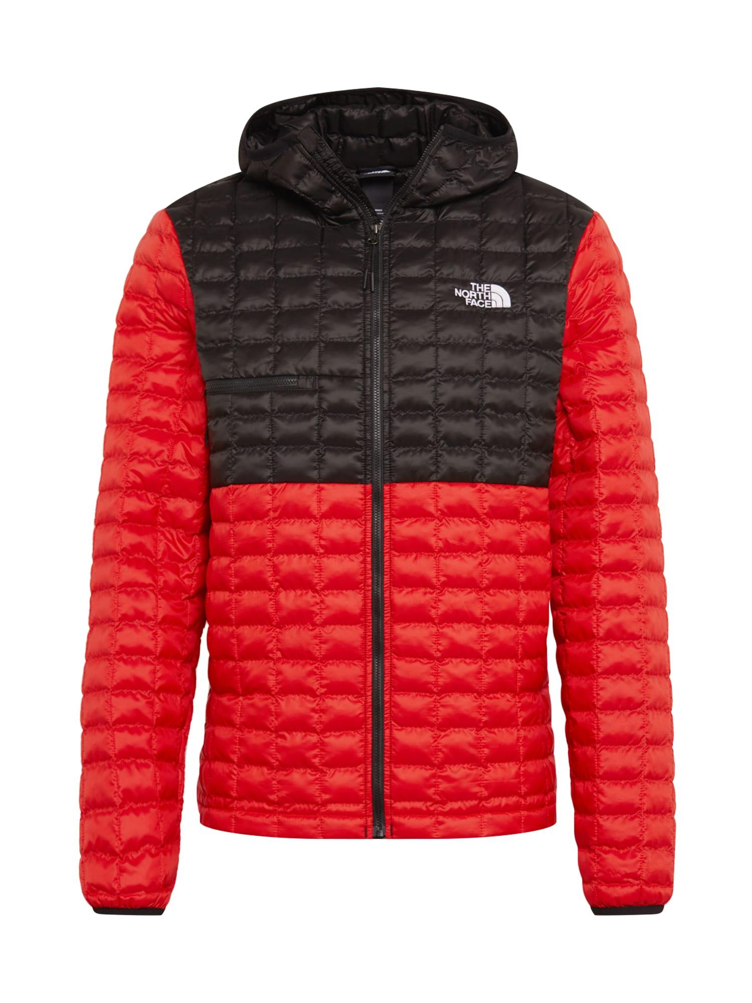 THE NORTH FACE Športová bunda  čierna / červená