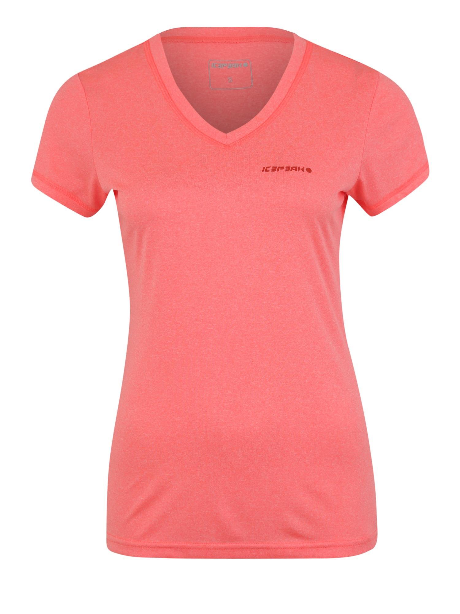 Funkční tričko SOSIE korálová ICEPEAK