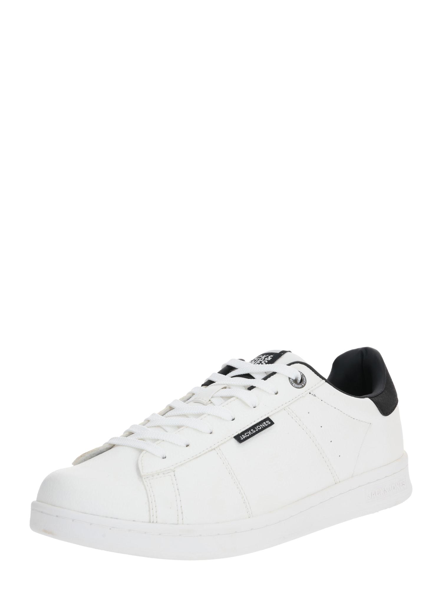JACK & JONES Rövid szárú edzőcipők  sötétkék / fehér