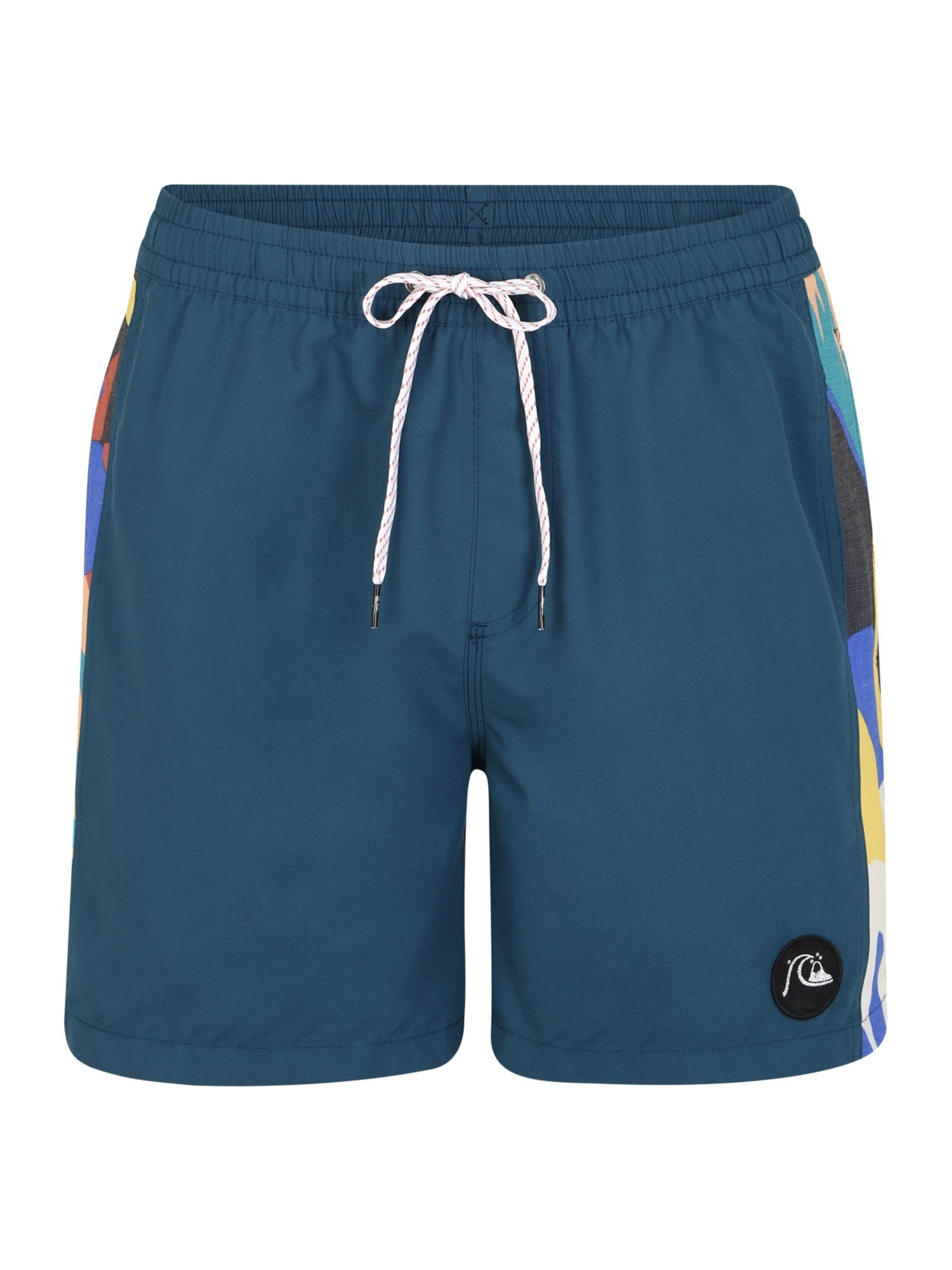 QUIKSILVER Plavecké šortky  zmiešané farby / tmavomodrá