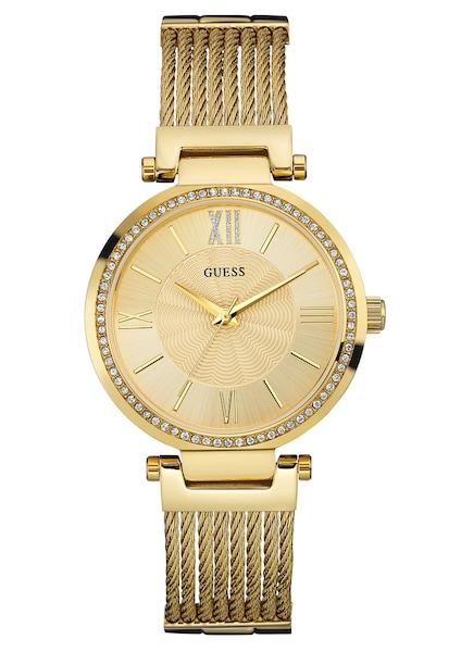 Uhren für Frauen - GUESS Armbanduhr 'SOHO' gold  - Onlineshop ABOUT YOU