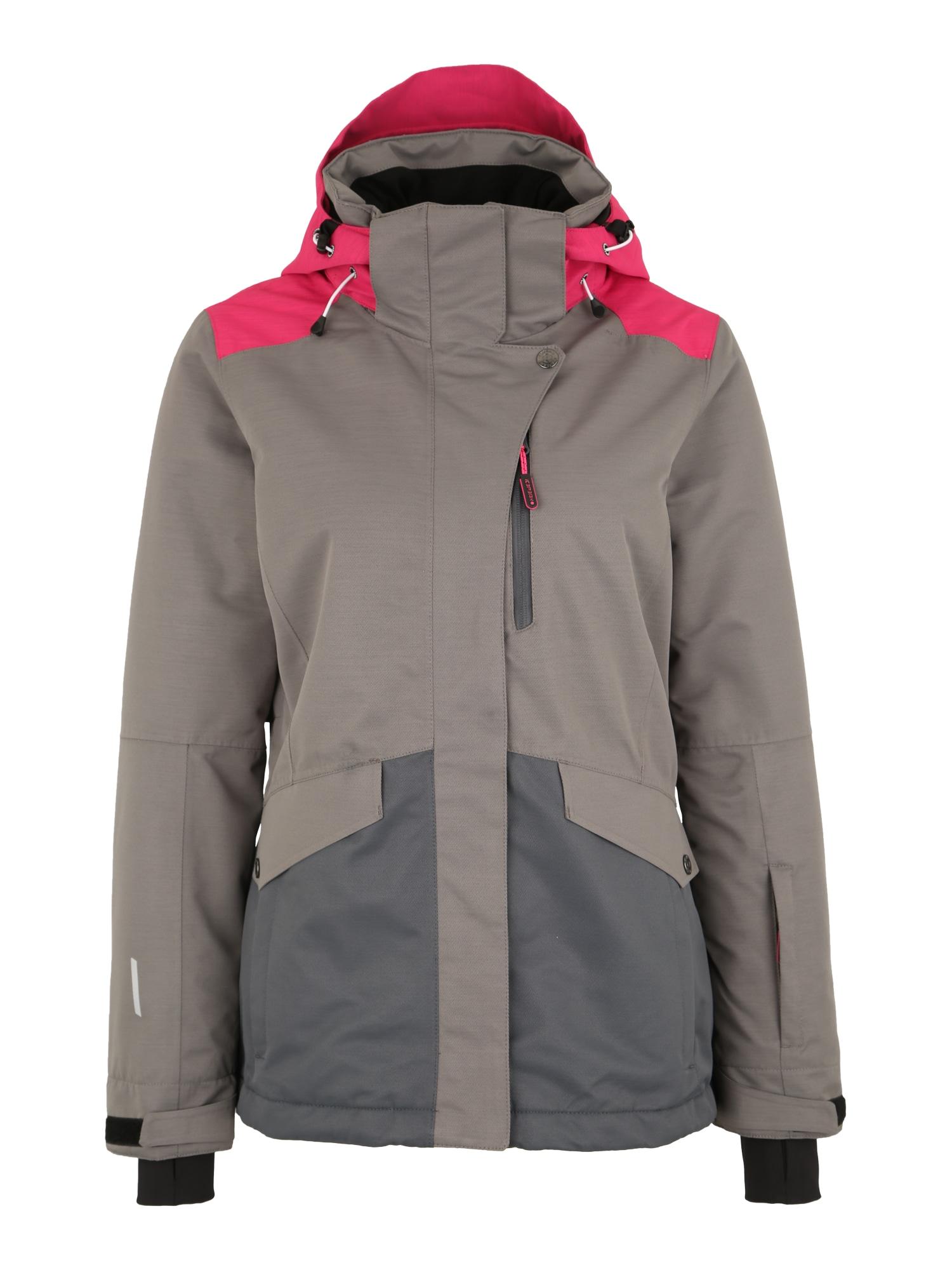 Outdoorová bunda Katlyn režná pink ICEPEAK