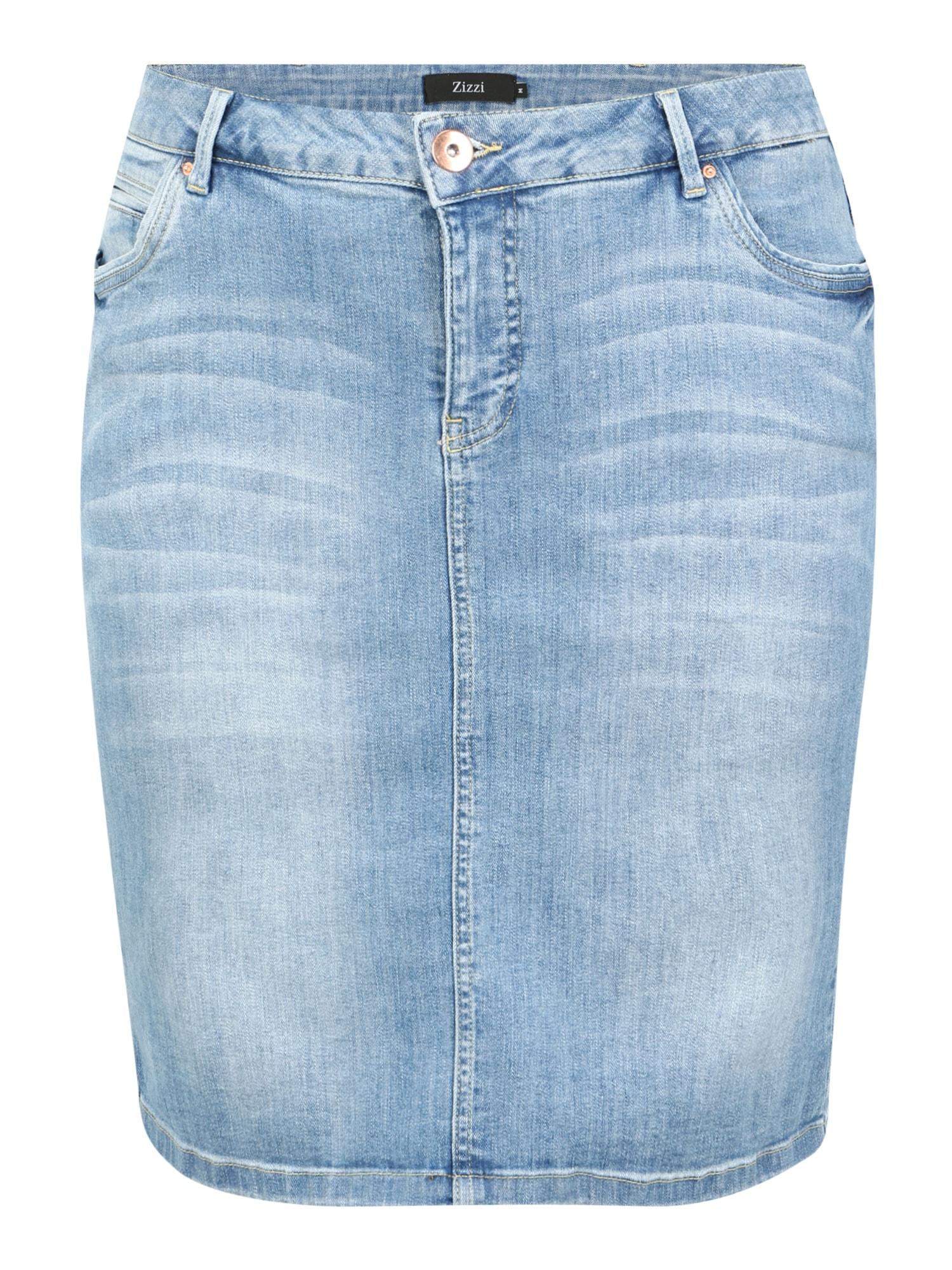 Zizzi Sijonas tamsiai (džinso) mėlyna
