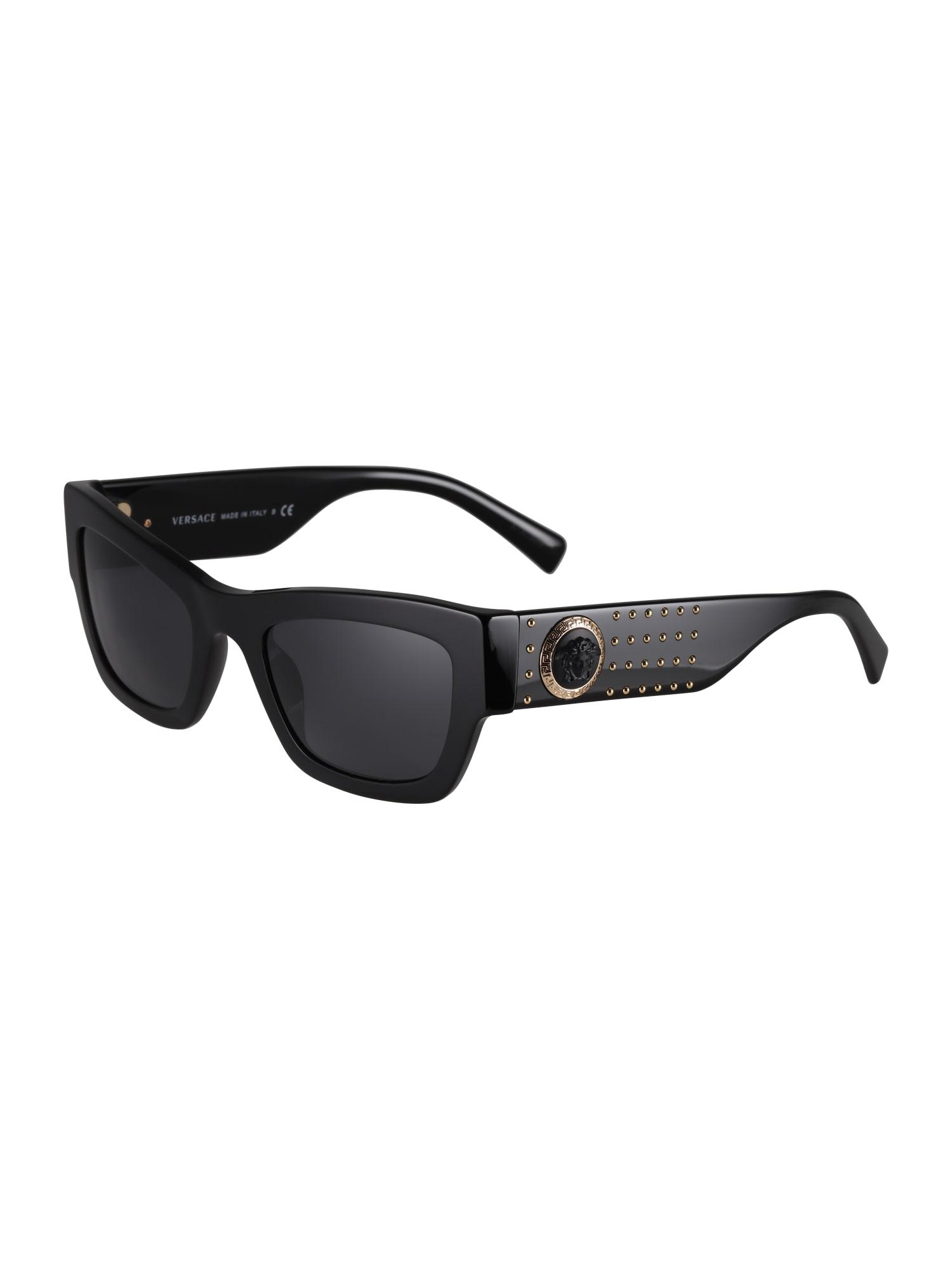 VERSACE Slnečné okuliare  čierna
