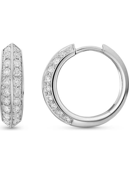 Ohrringe für Frauen - CHRIST Creole '87576141' silber  - Onlineshop ABOUT YOU