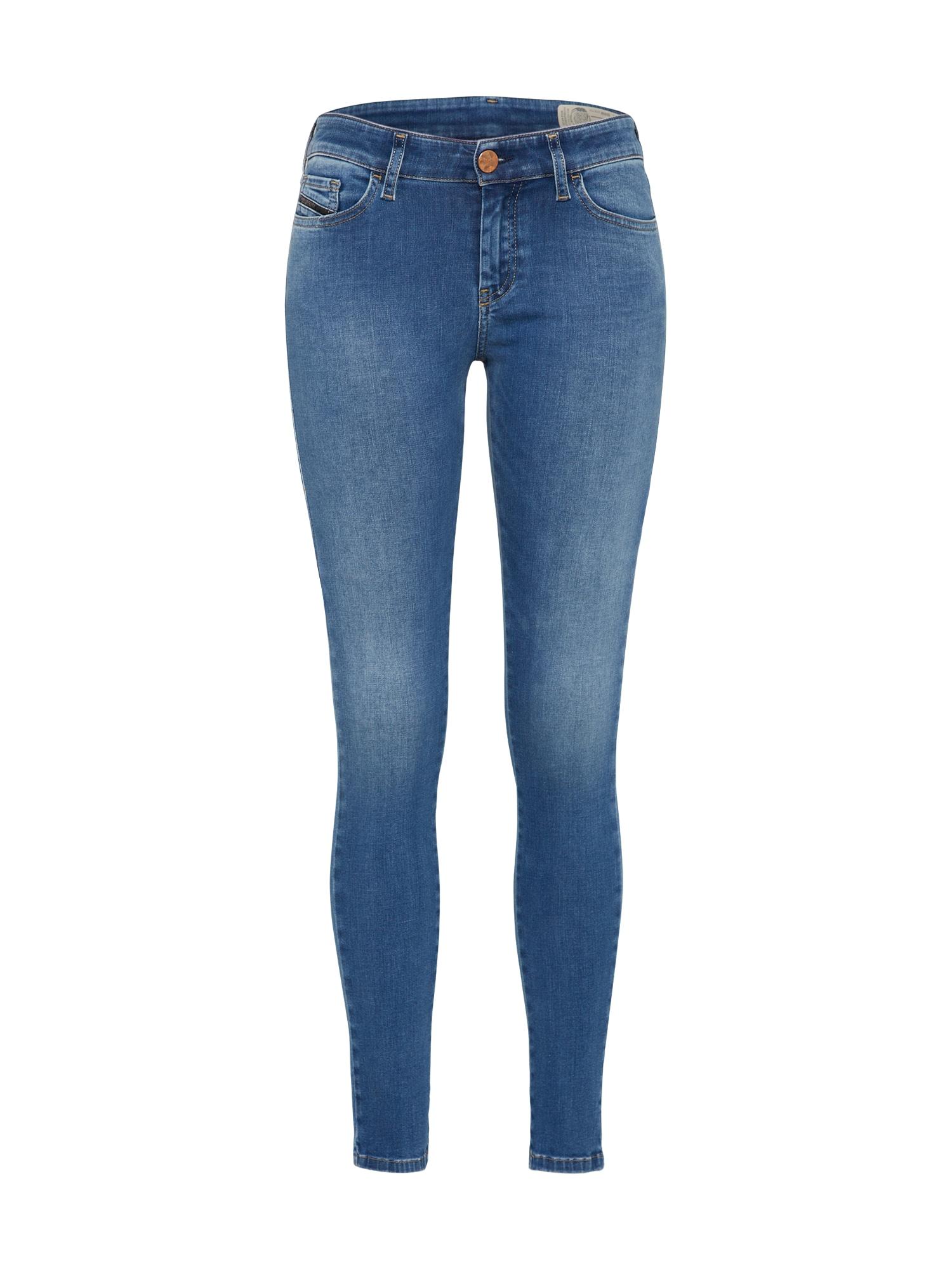 DIESEL Džinsai 'Slandy 084NM' tamsiai (džinso) mėlyna