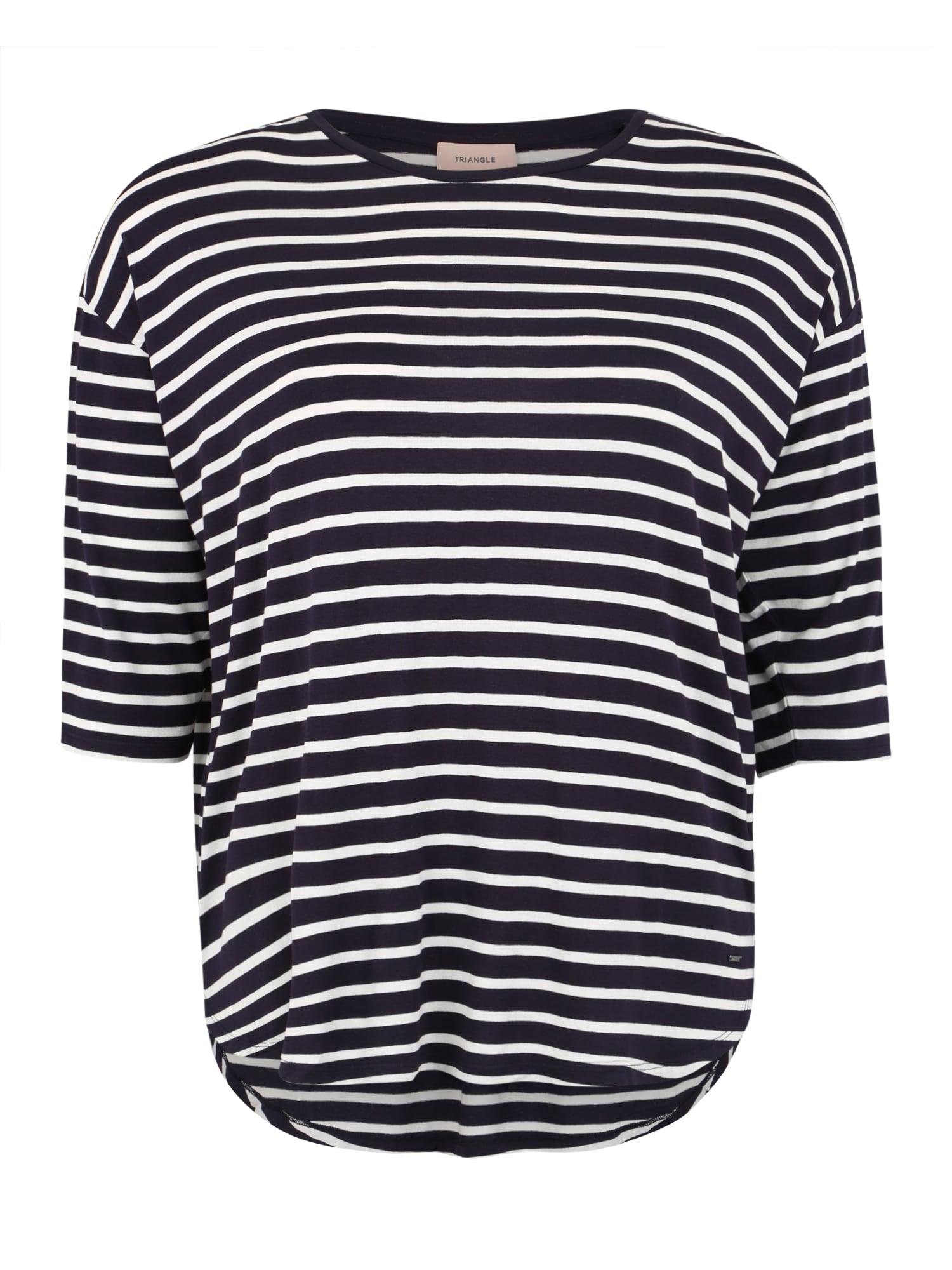 Tričko námořnická modř TRIANGLE